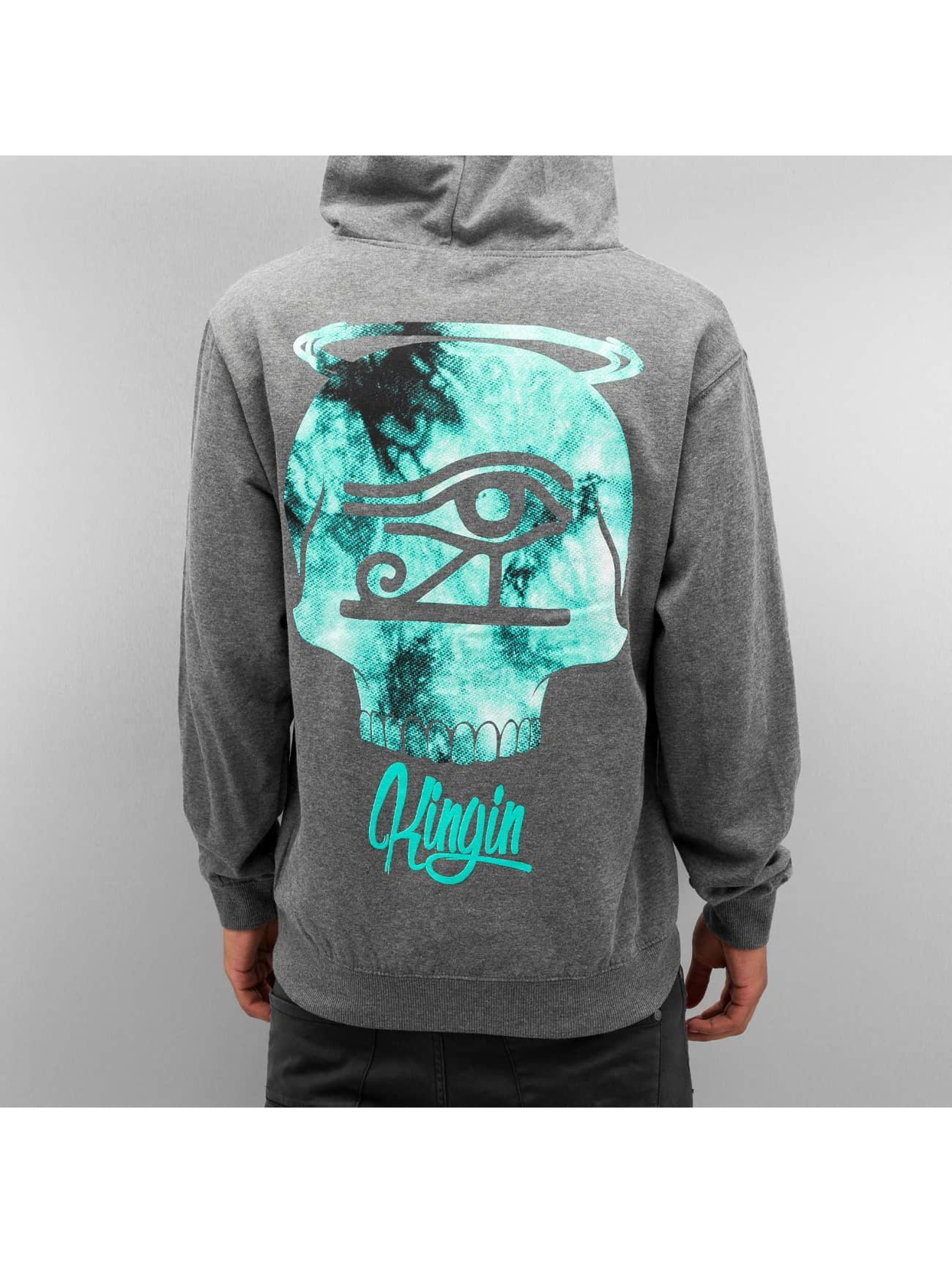 Last Kings Sweat capuche LKAD gris
