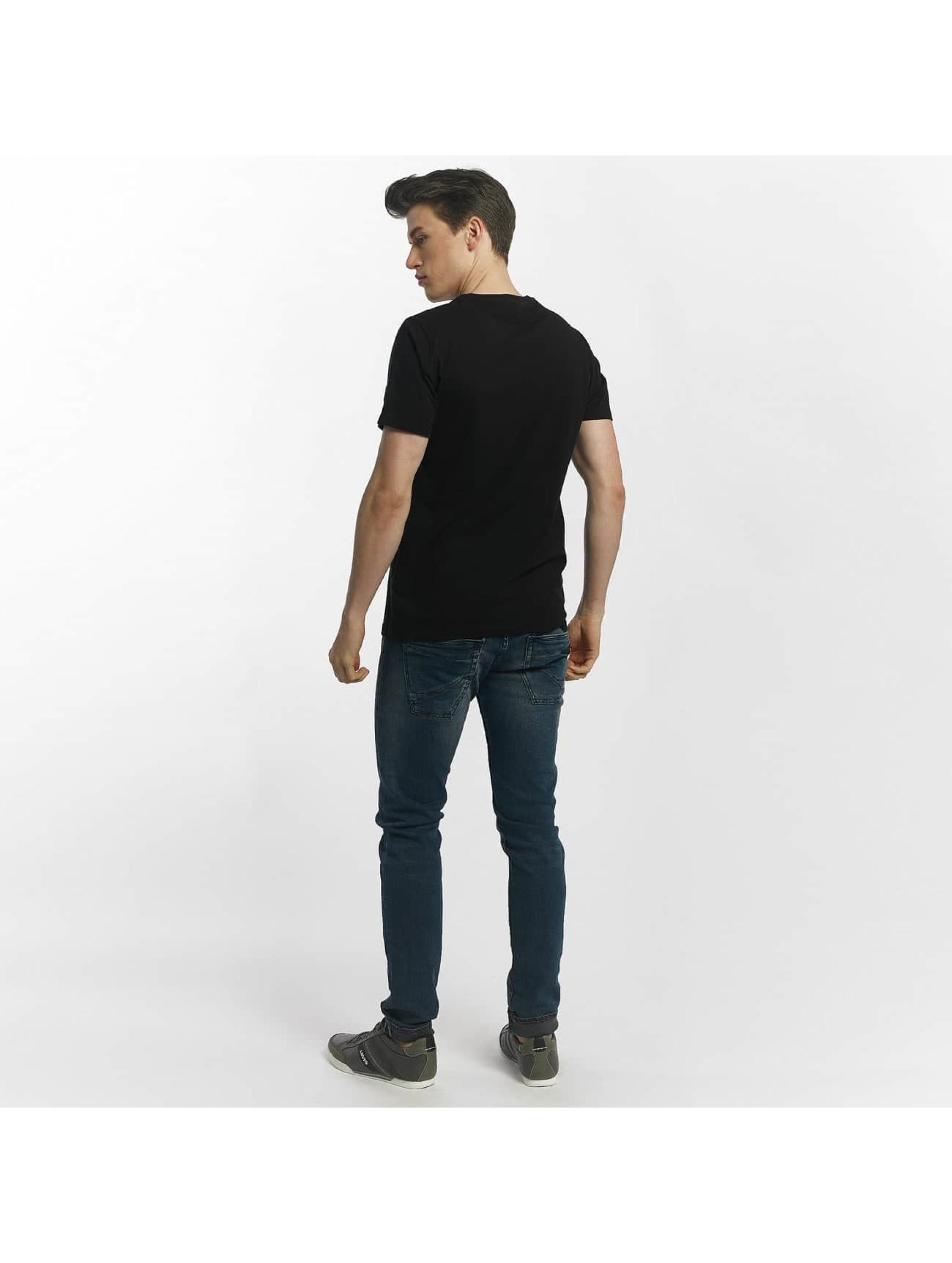 Le Temps Des Cerises Camiseta Airplane negro