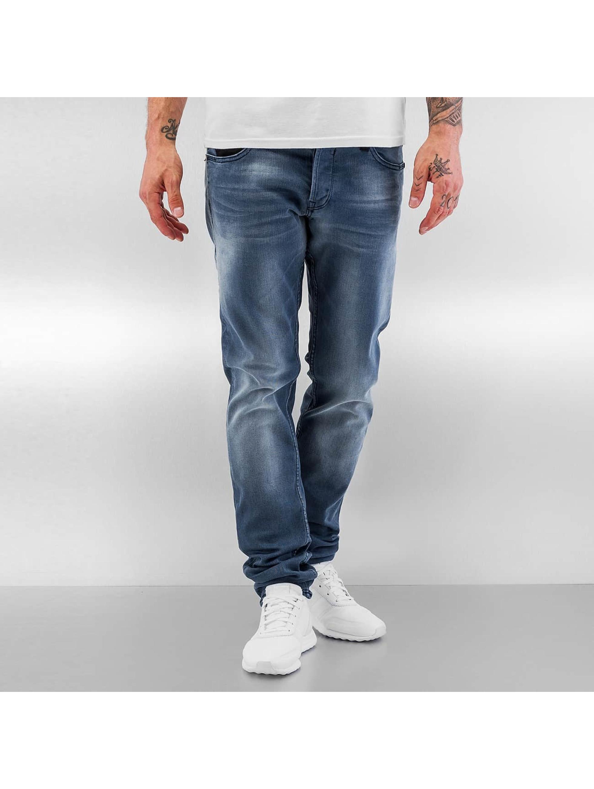 Le Temps Des Cerises Loose fit jeans 711 Basic blauw