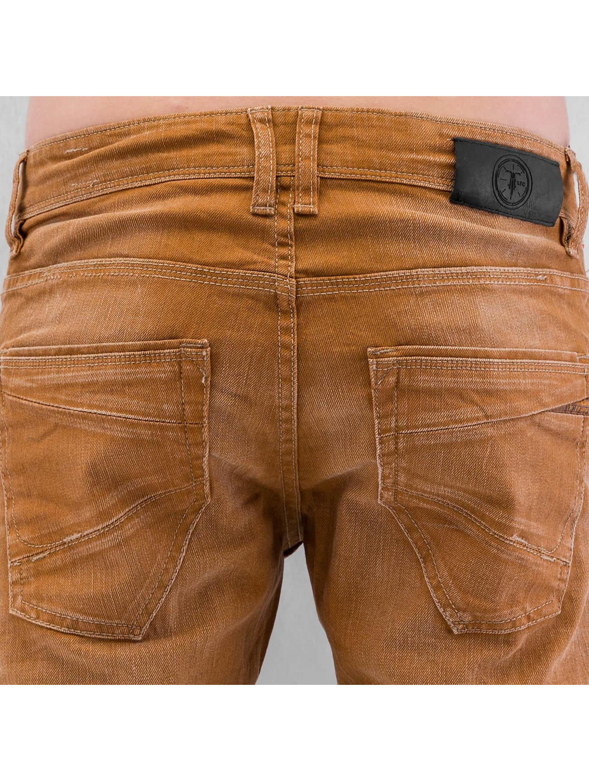 Le Temps Des Cerises Loose fit jeans 711 Basic bruin
