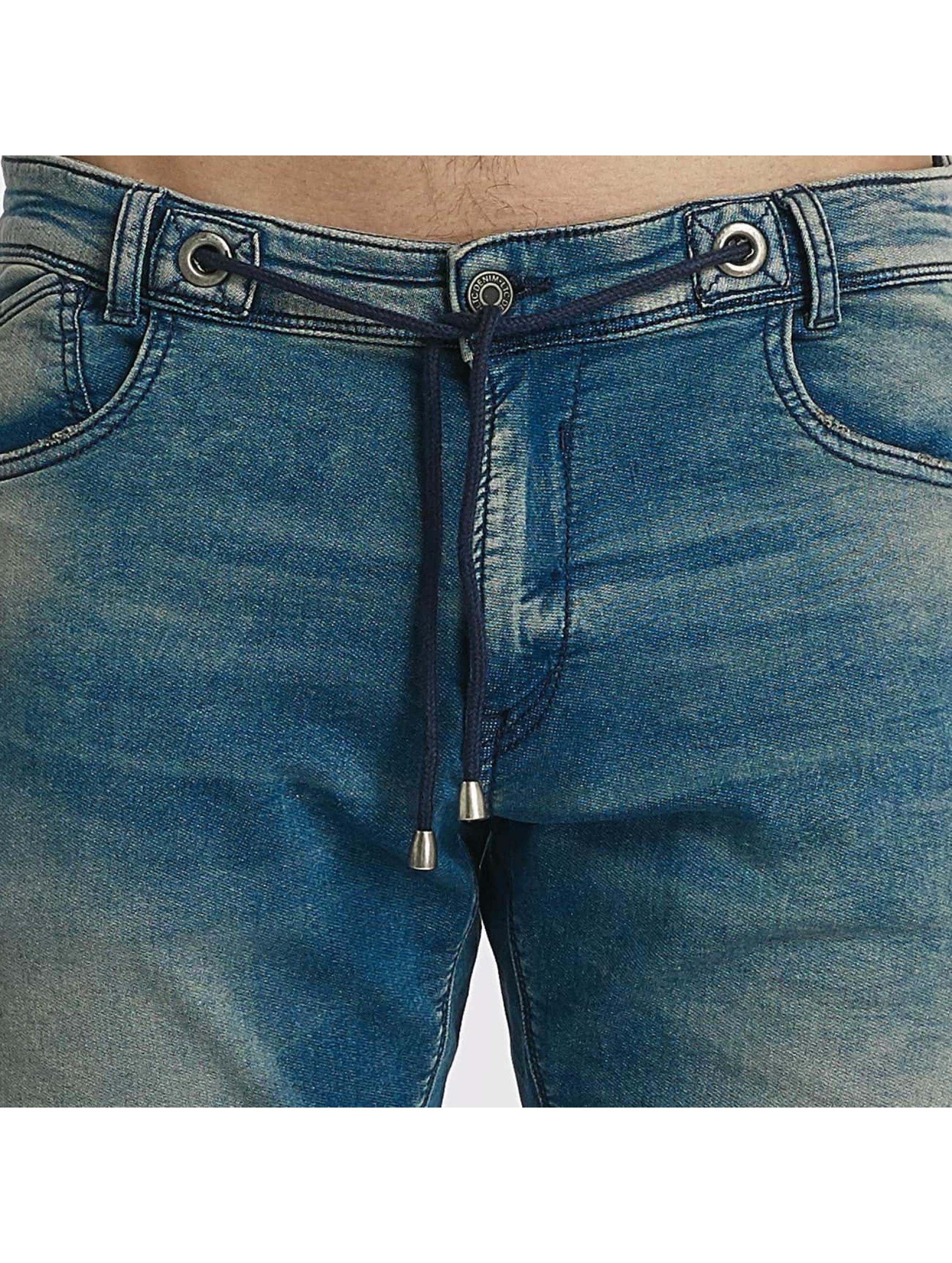 Le Temps Des Cerises Short Jogg bleu