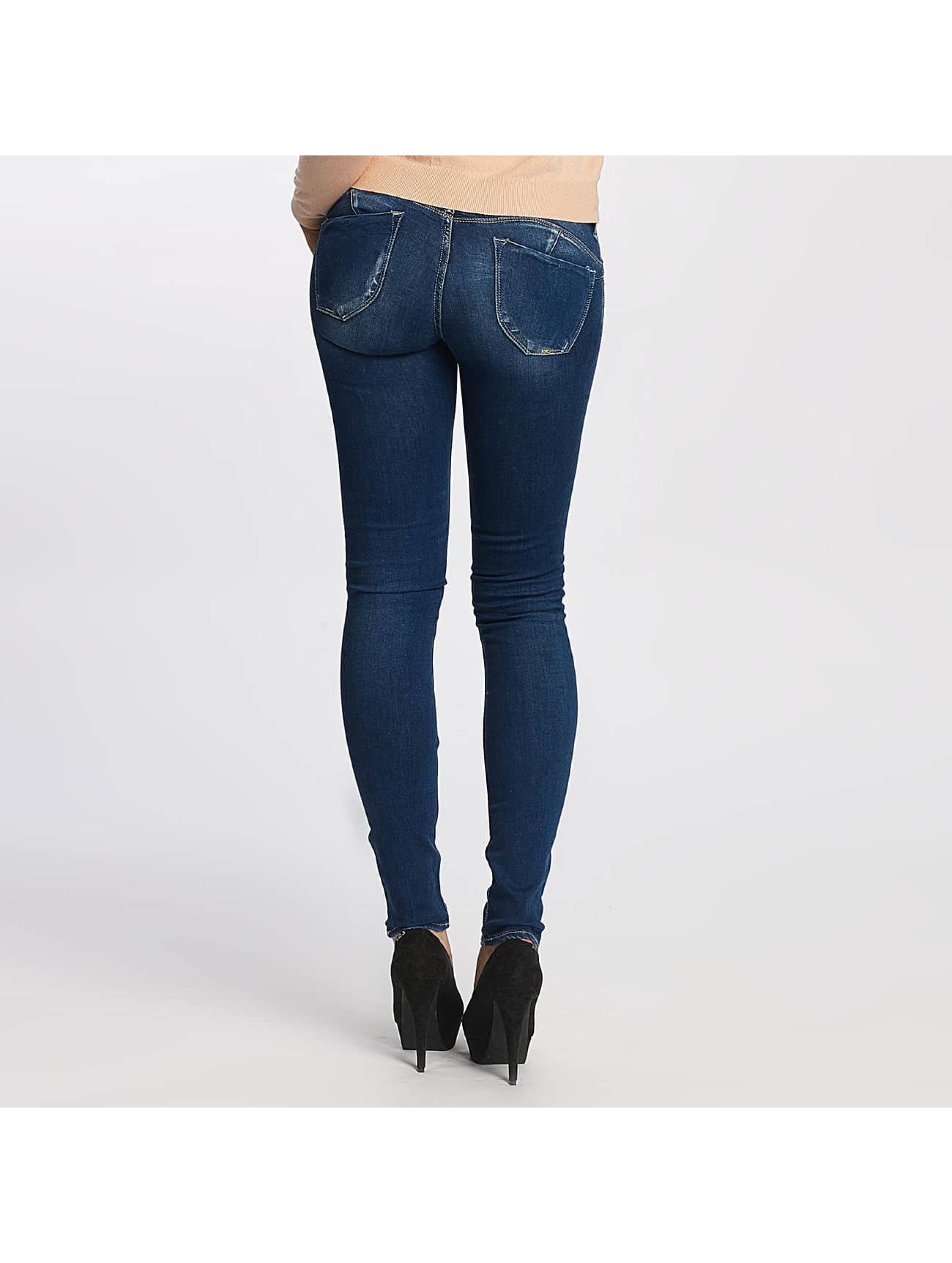 Le Temps Des Cerises Slim Fit Jeans Pulp blå