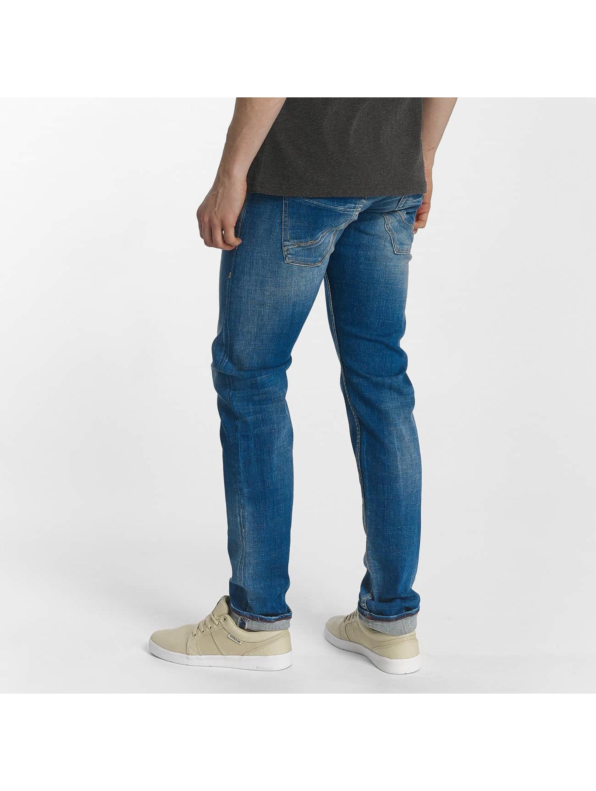 Le Temps Des Cerises Slim Fit Jeans 700/11 Basic blauw