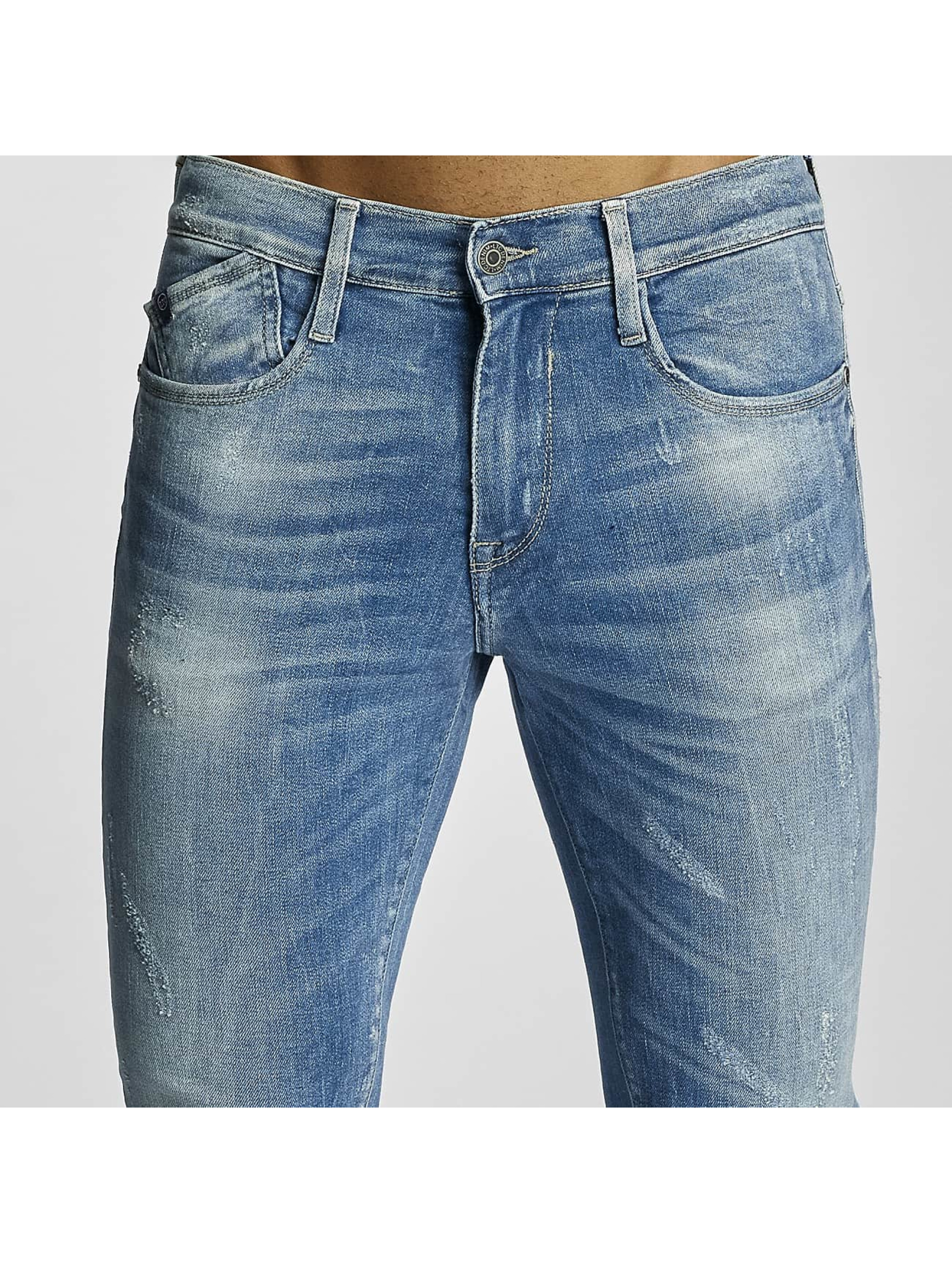 Le Temps Des Cerises Slim Fit Jeans 715 Power modrá
