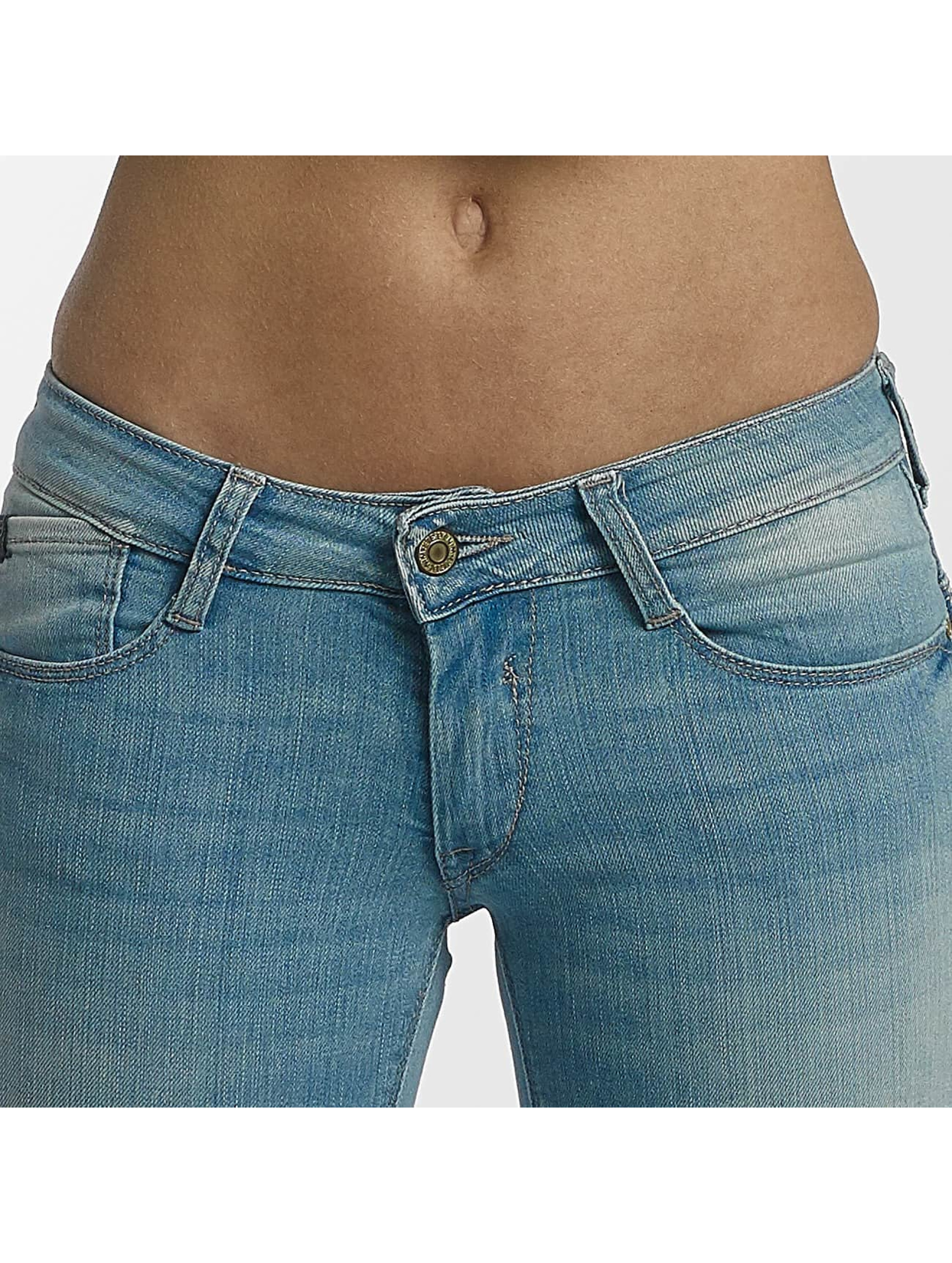Le Temps Des Cerises Slim Fit Jeans Pulp modrá