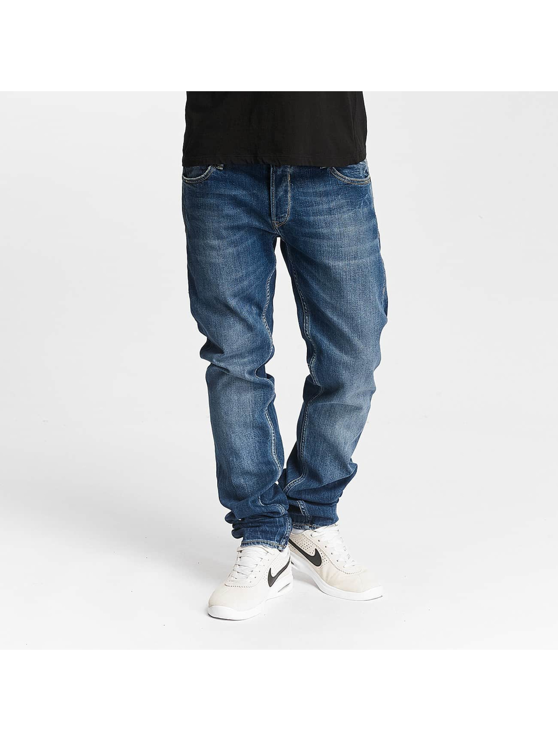 Le Temps Des Cerises Straight Fit Jeans 711 Basic blå