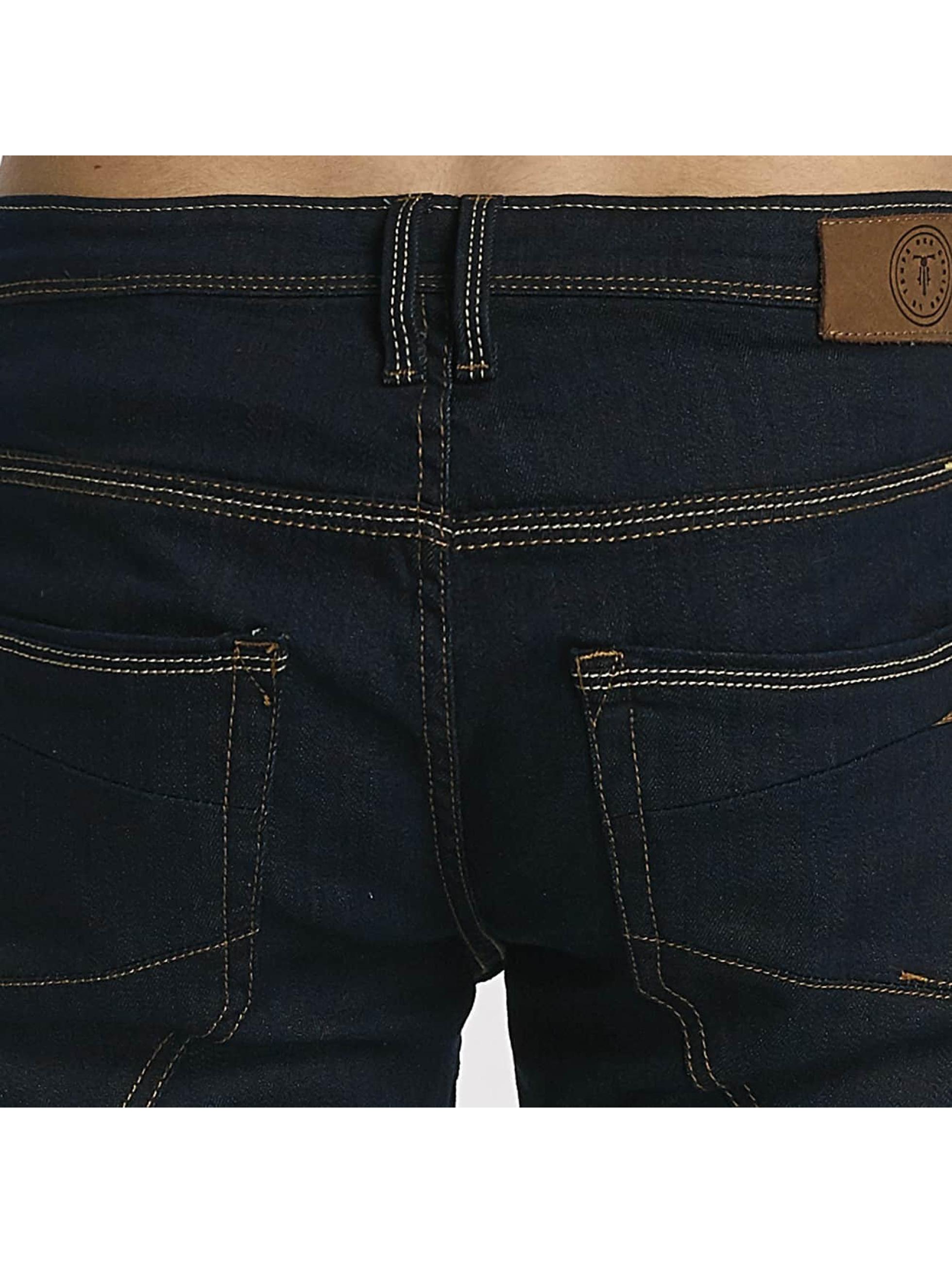 Le Temps Des Cerises Straight Fit Jeans 700/11 blå