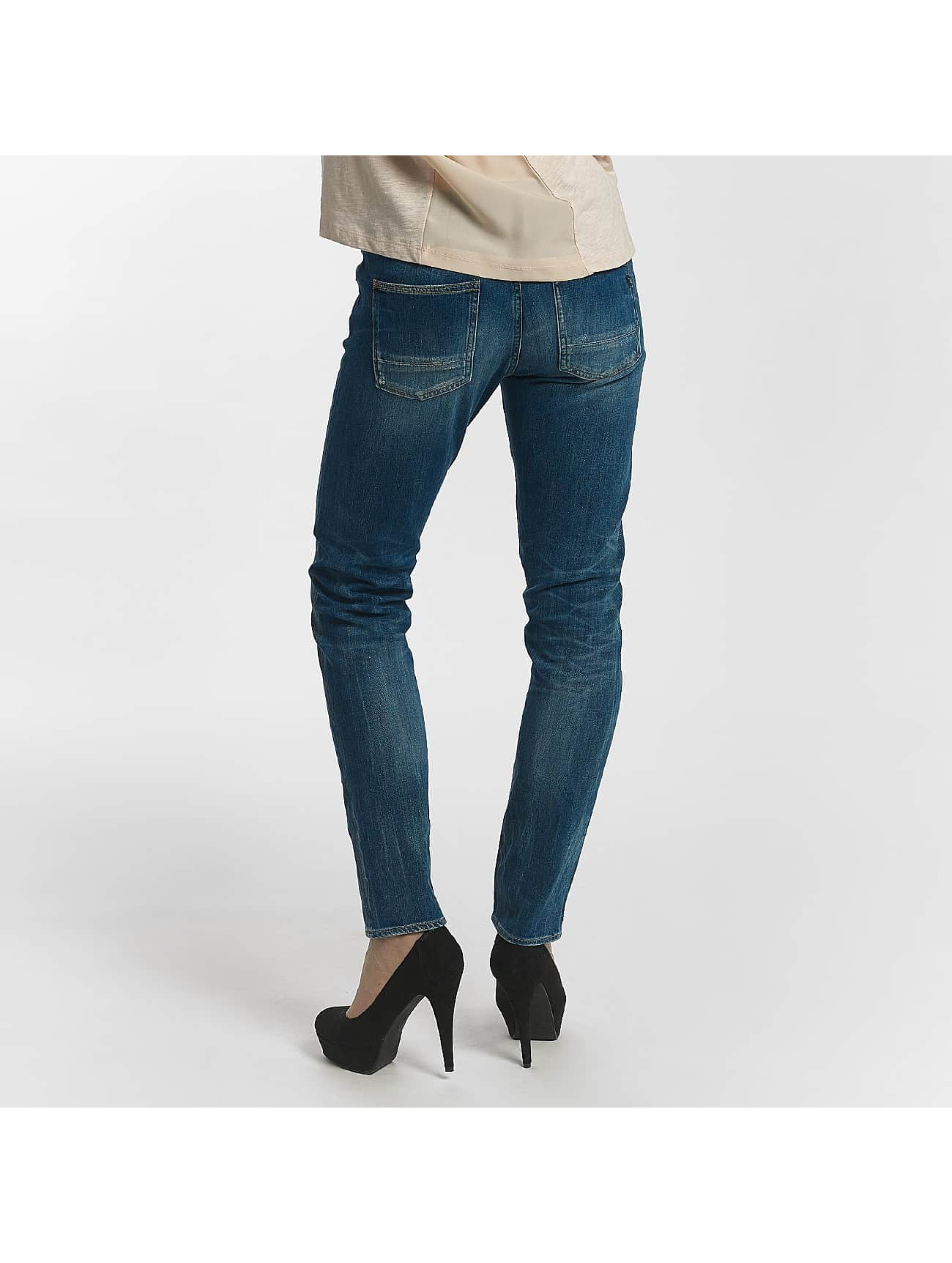Le Temps Des Cerises Straight Fit Jeans 200/43 Royal blå