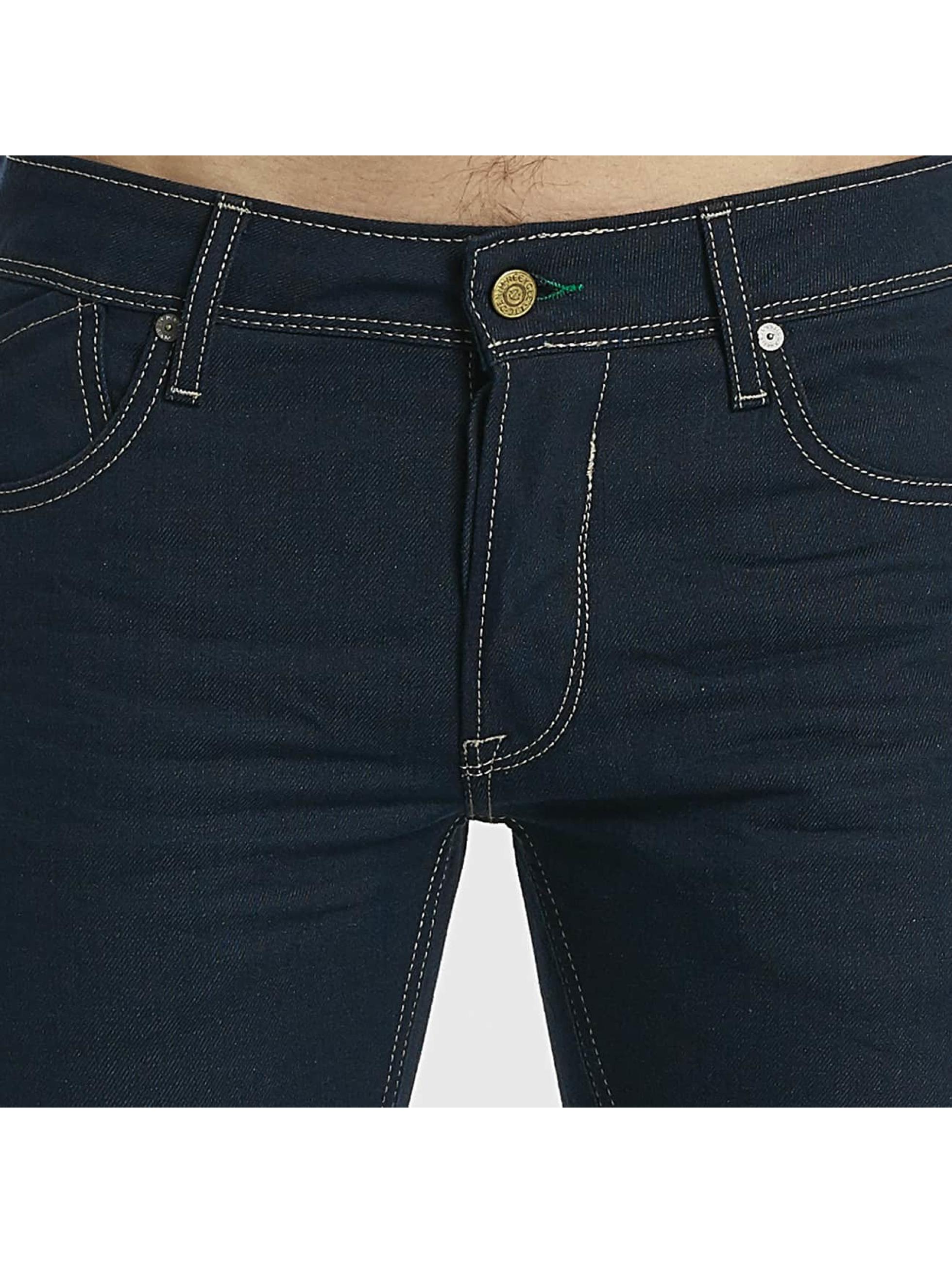 Le Temps Des Cerises Straight Fit Jeans 700/11 Recycled blau