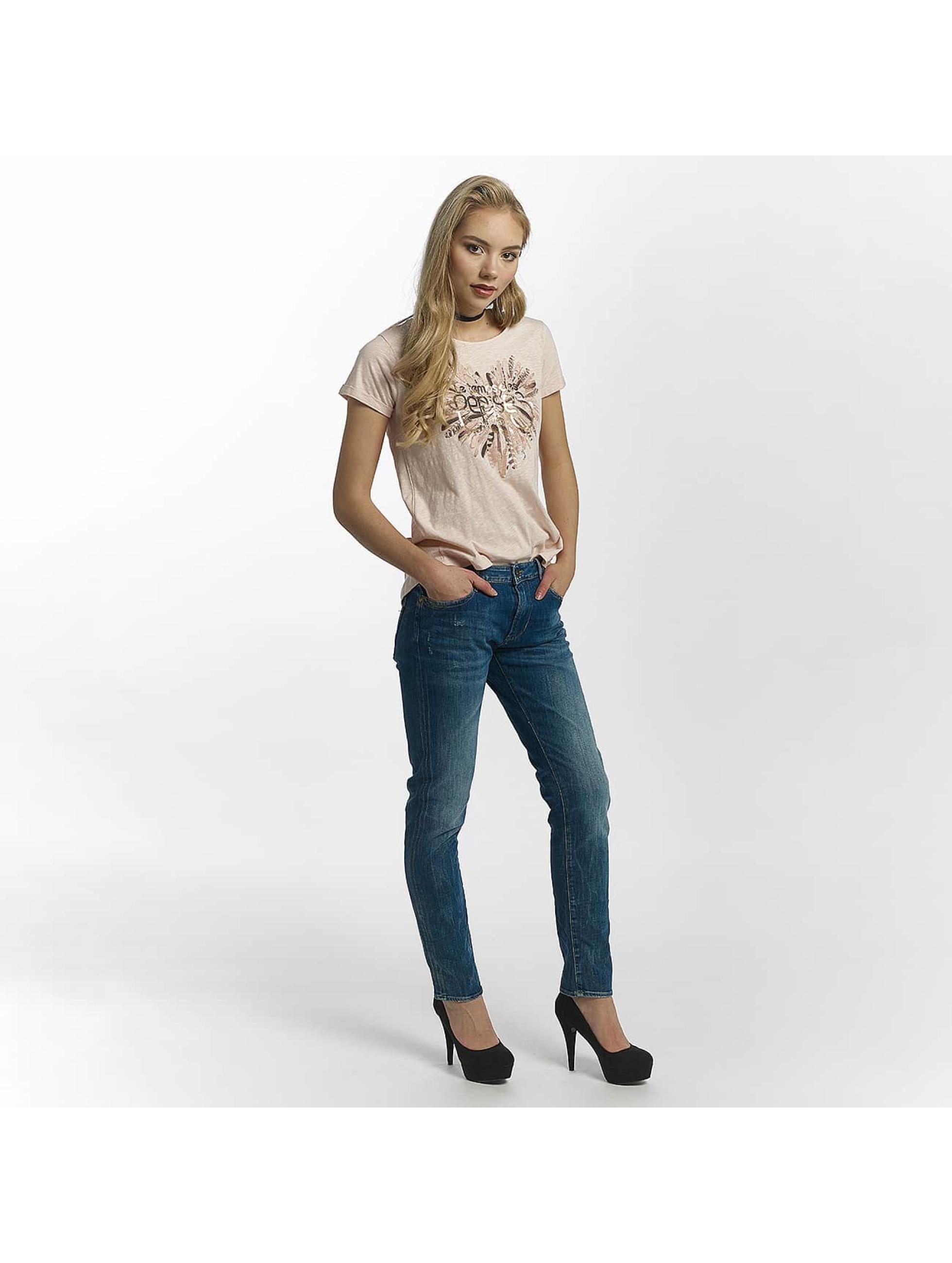 Le Temps Des Cerises Straight fit jeans 200/43 Royal blauw