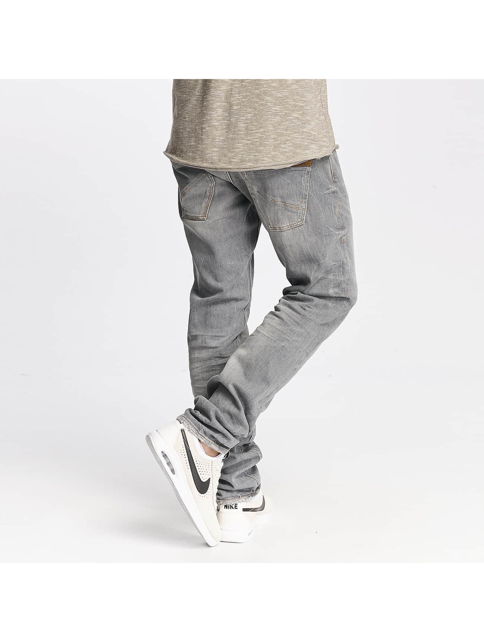 Le Temps Des Cerises Straight Fit Jeans 711 Basic grå