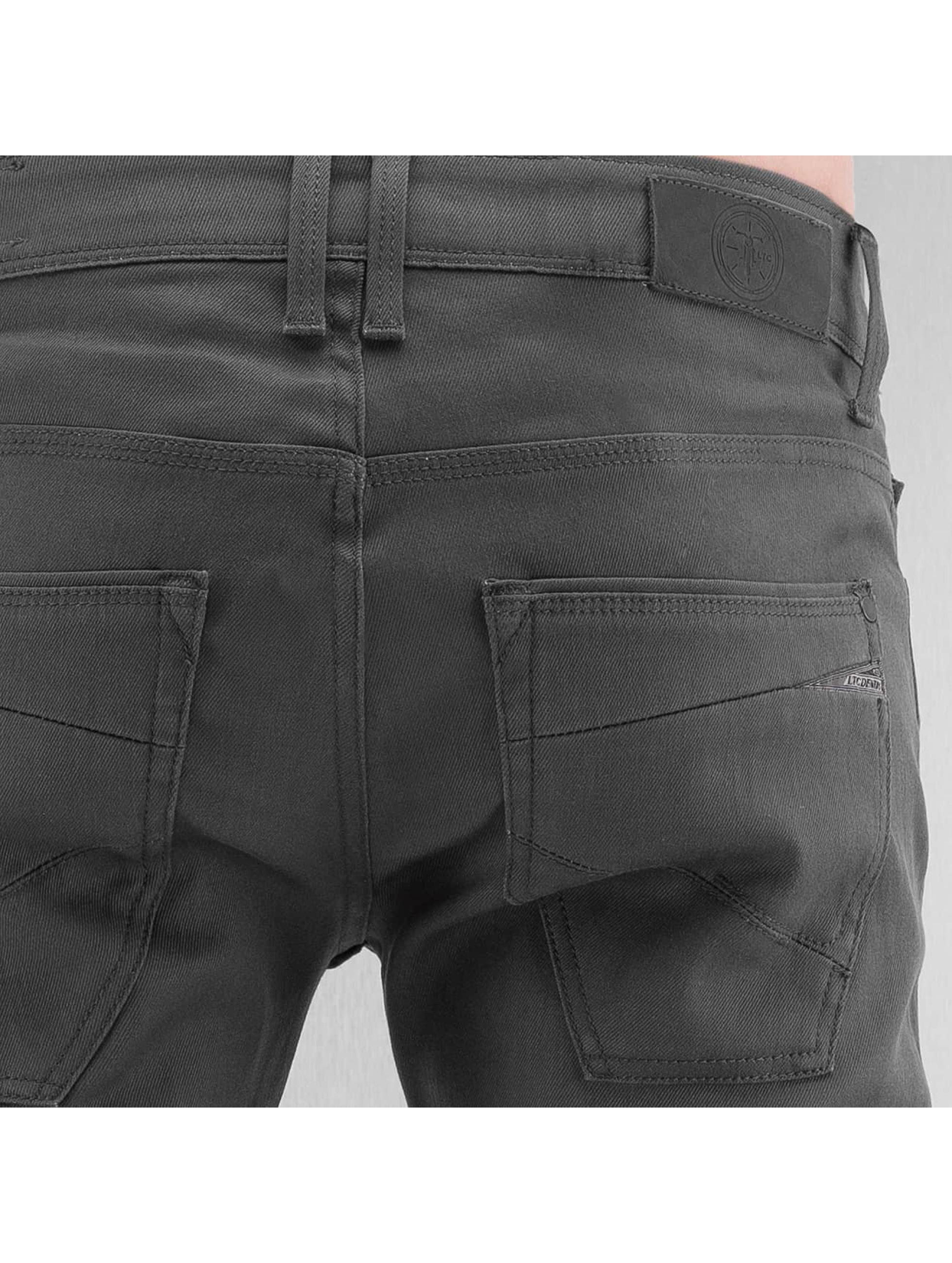 Le Temps Des Cerises Straight Fit Jeans 711 Basic grey