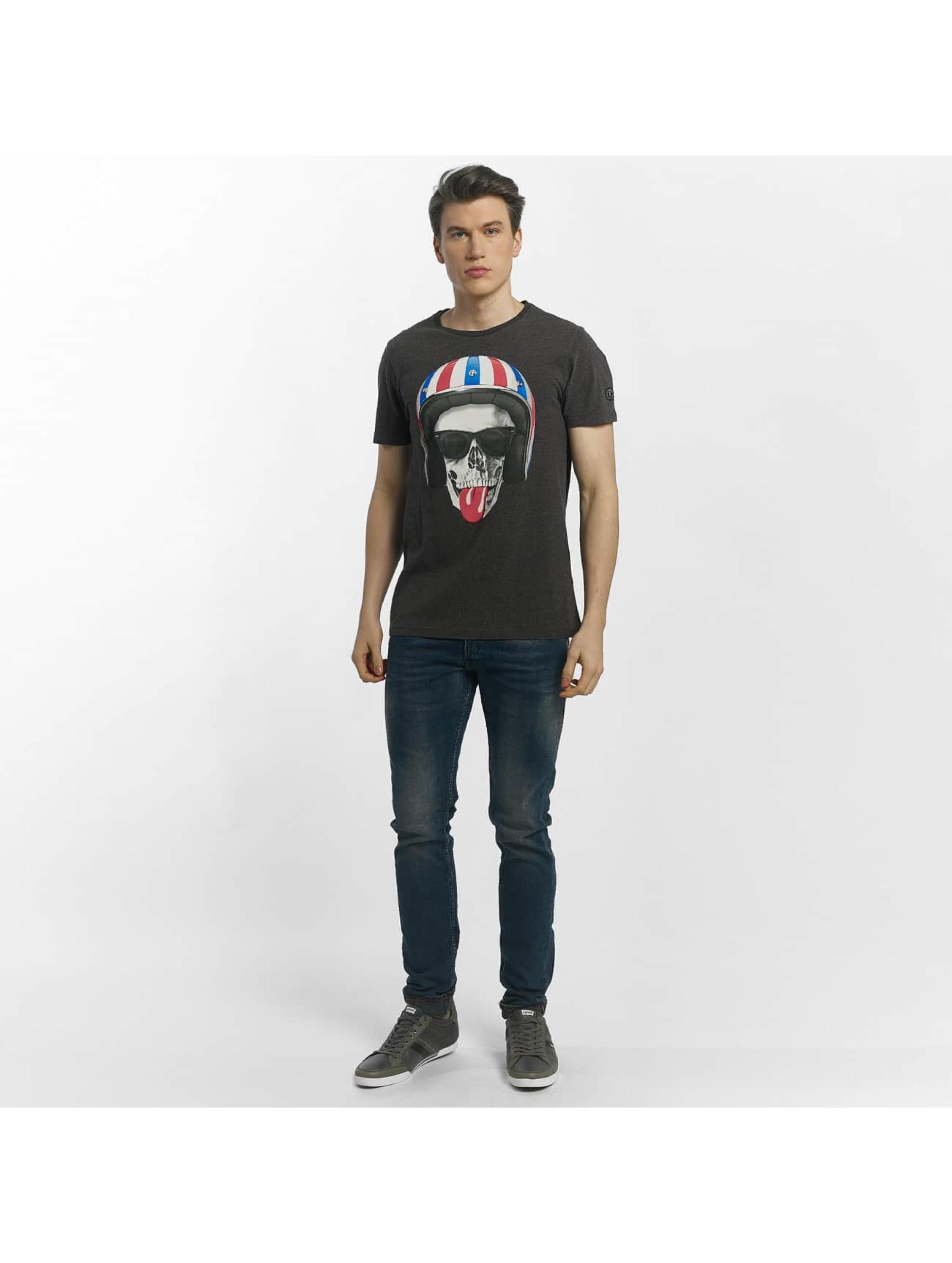 Le Temps Des Cerises t-shirt Allin grijs