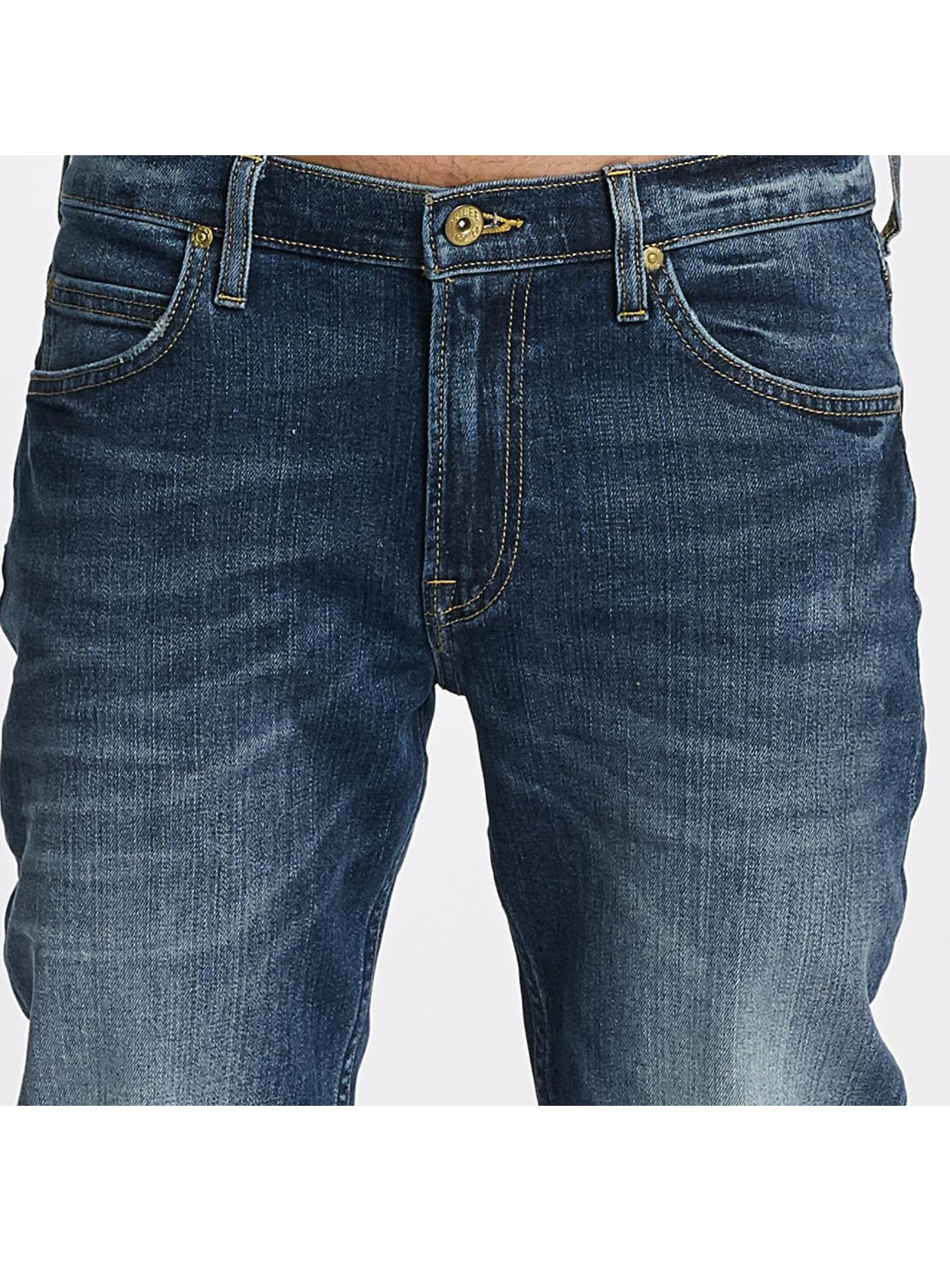 Lee dżinsy przylegające Rider niebieski