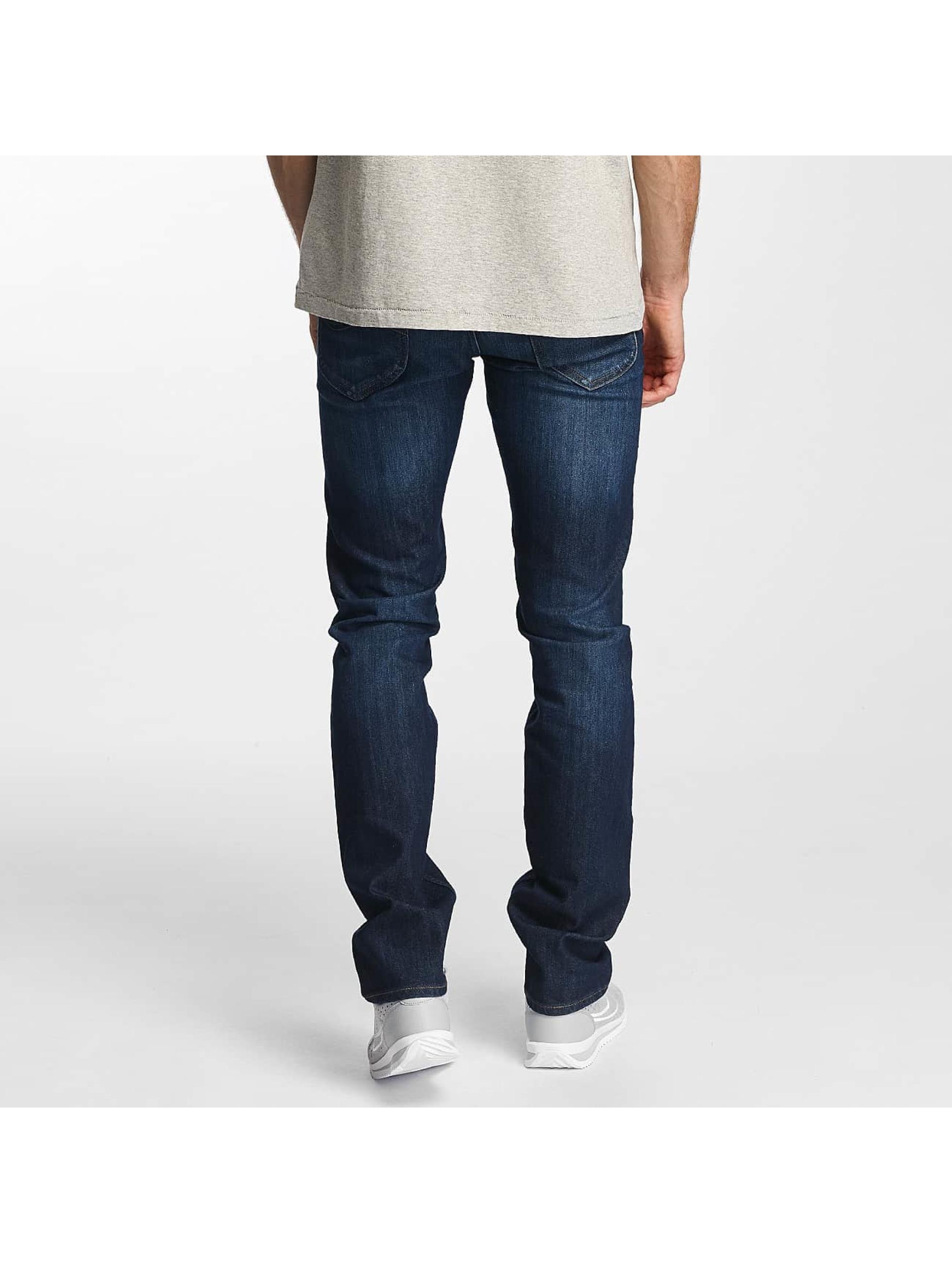 Lee dżinsy przylegające Daren Zip Fly niebieski