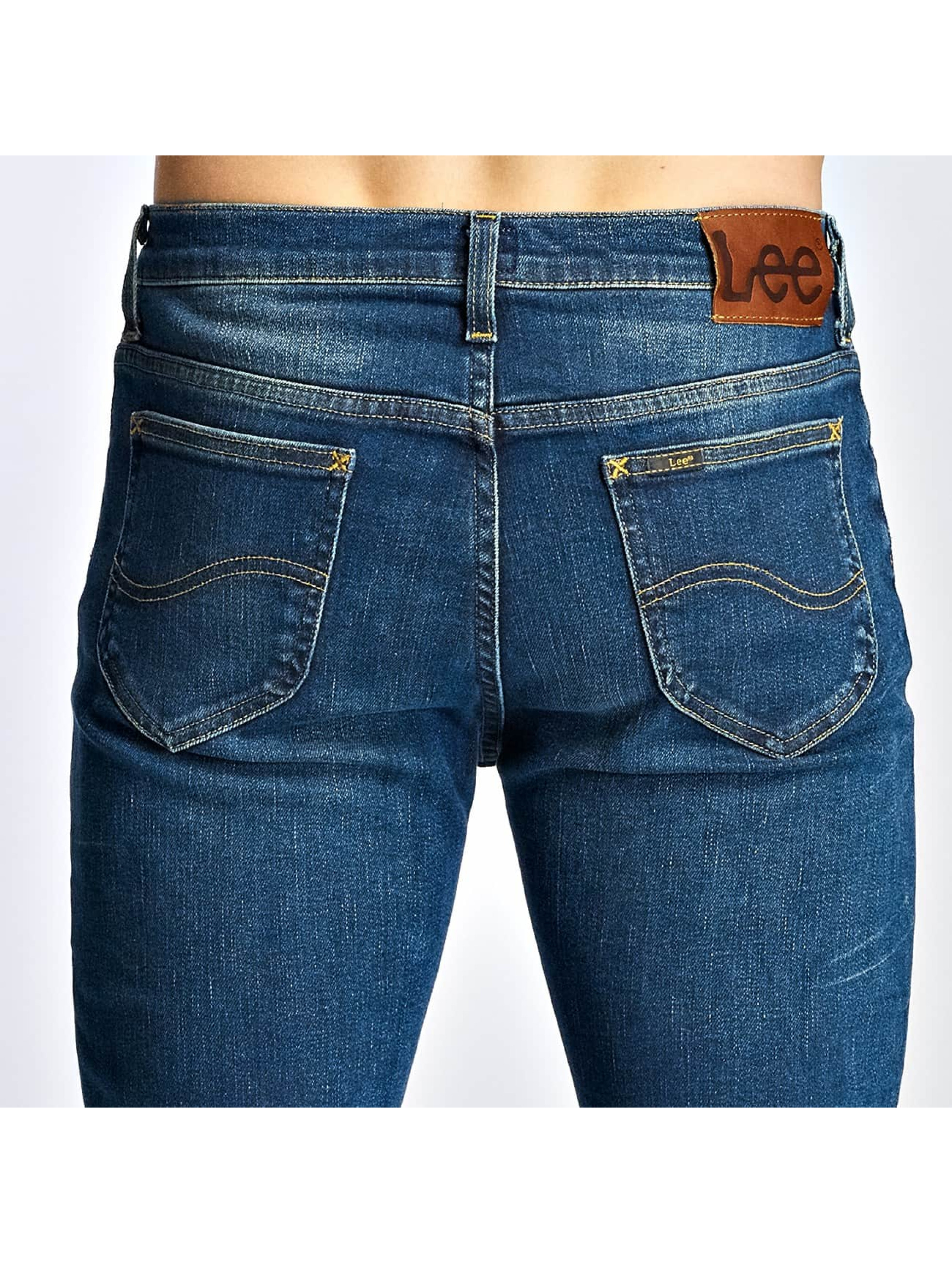 Lee Jean slim Rider Regular Waist bleu