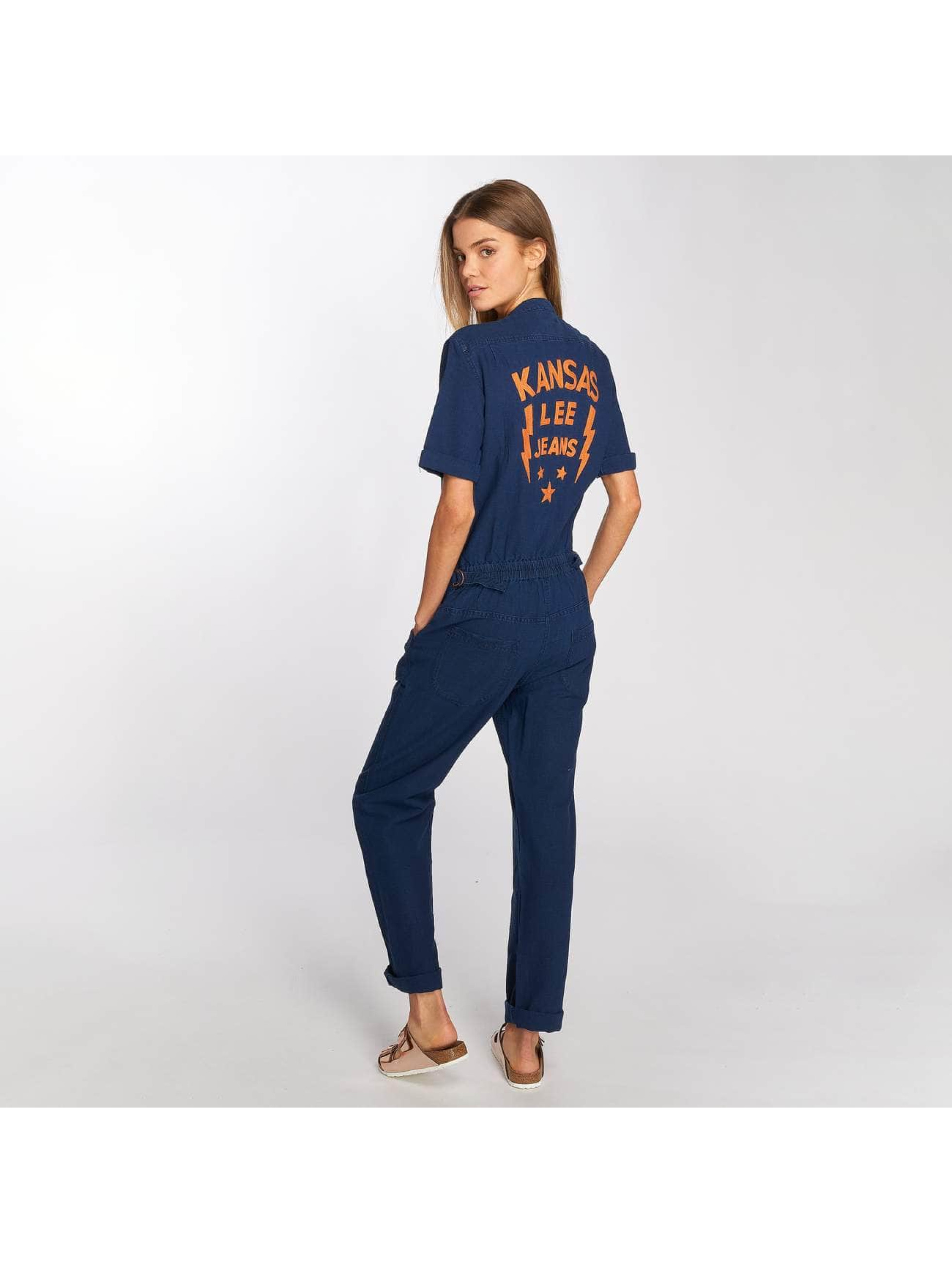 Lee Jumpsuit Dusk blau