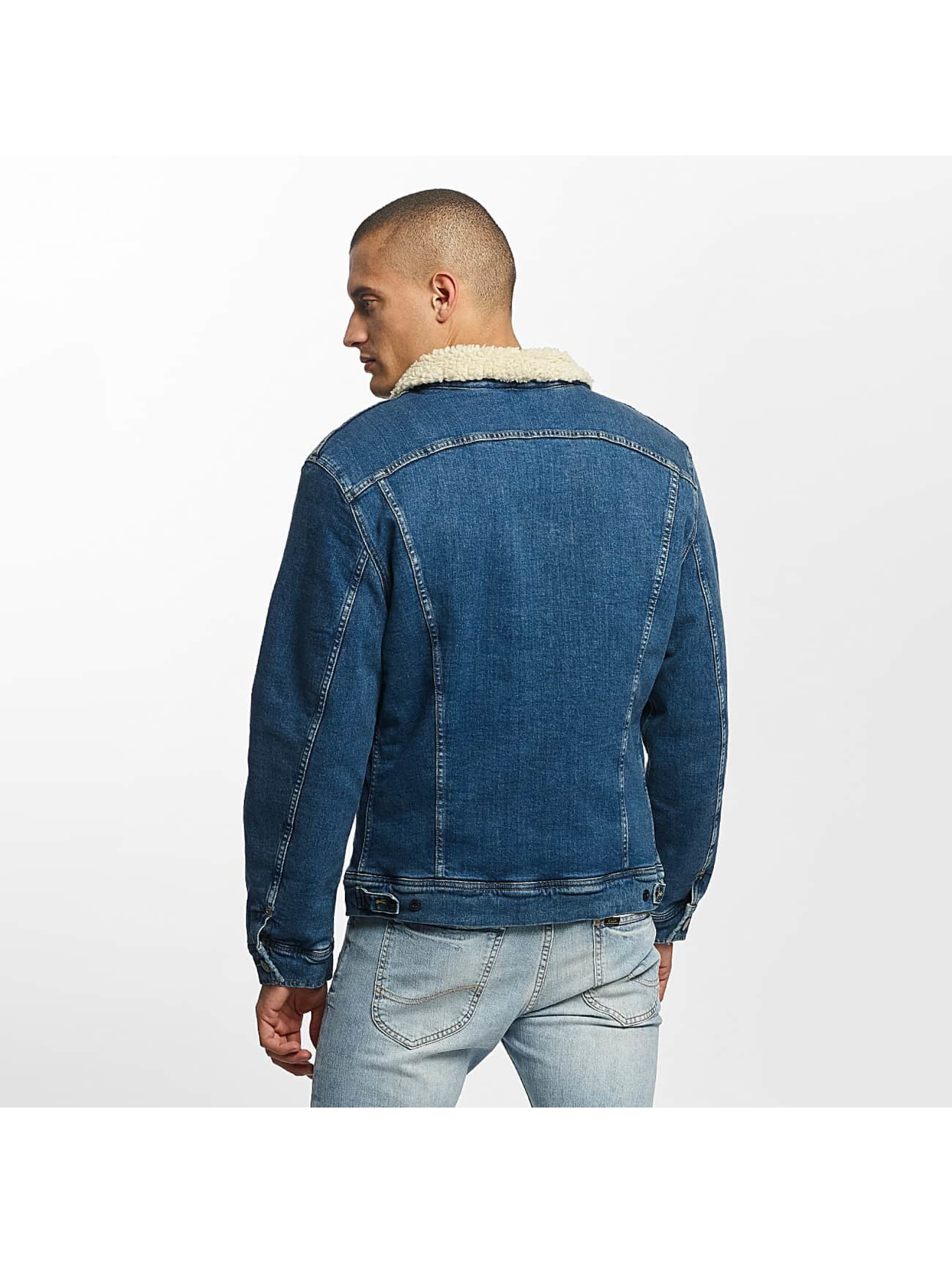 Lee Lightweight Jacket Sherpa Rider blue