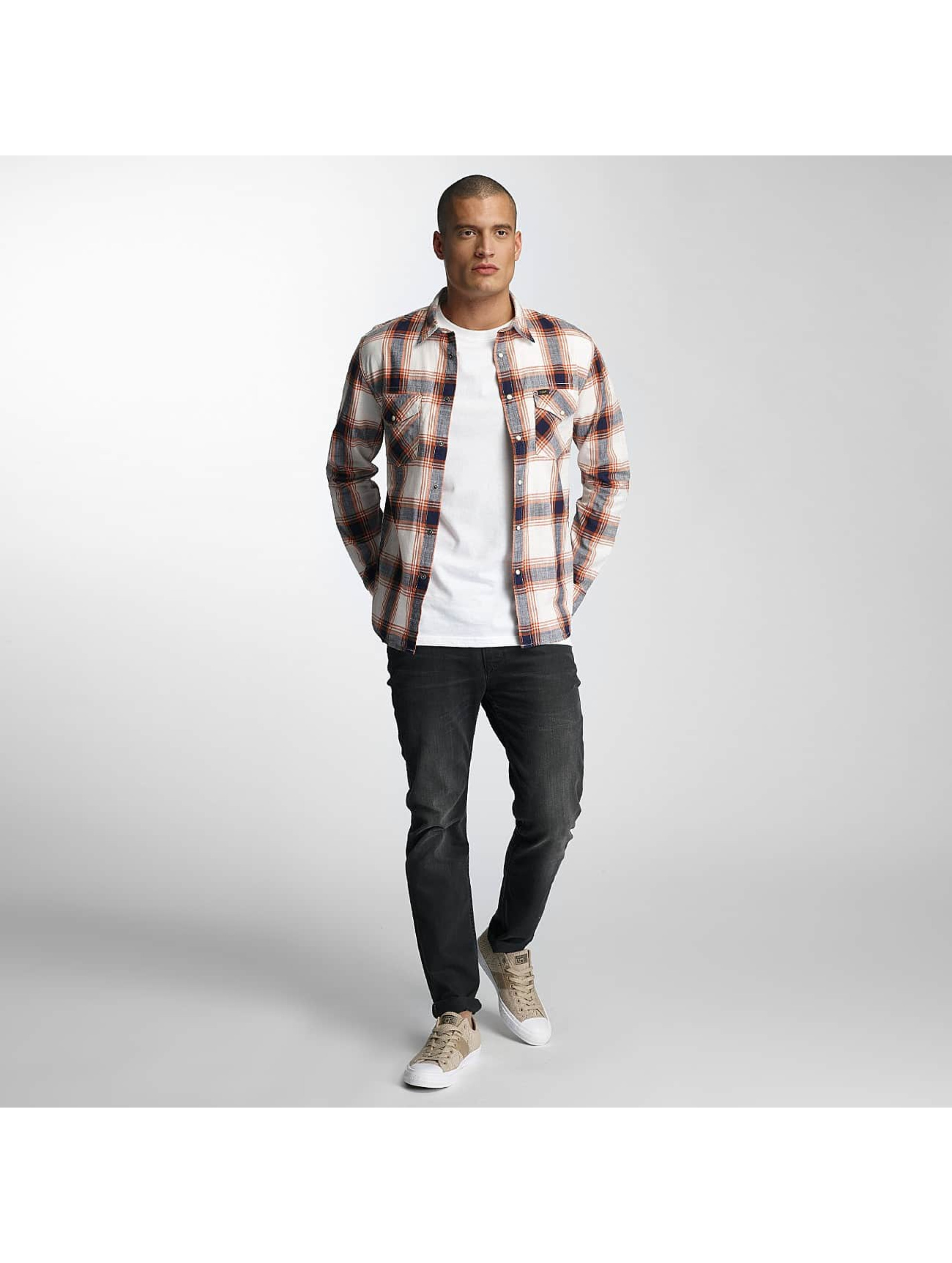 Lee overhemd Western wit