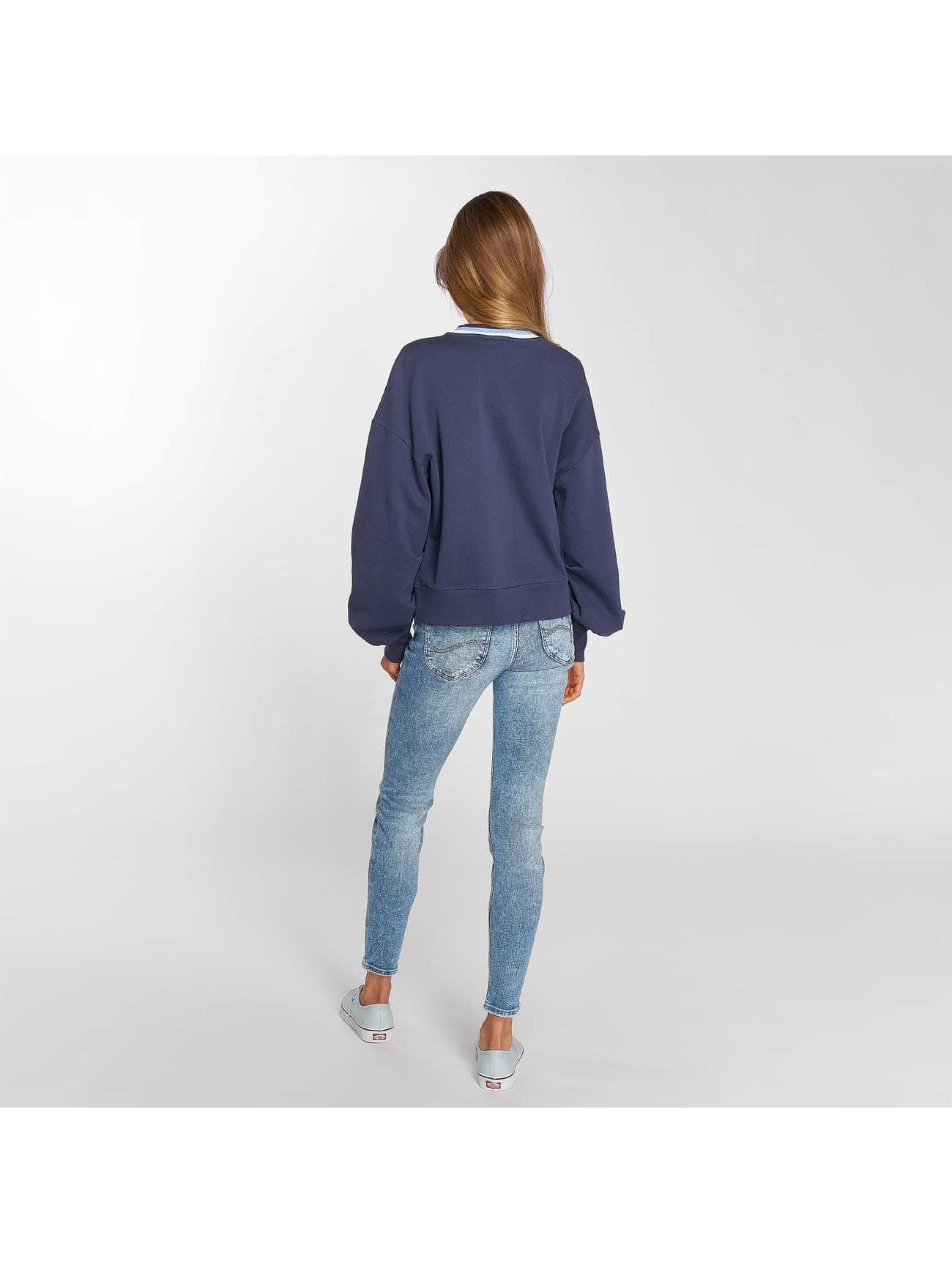 Lee Pullover Bell Sleeve blau