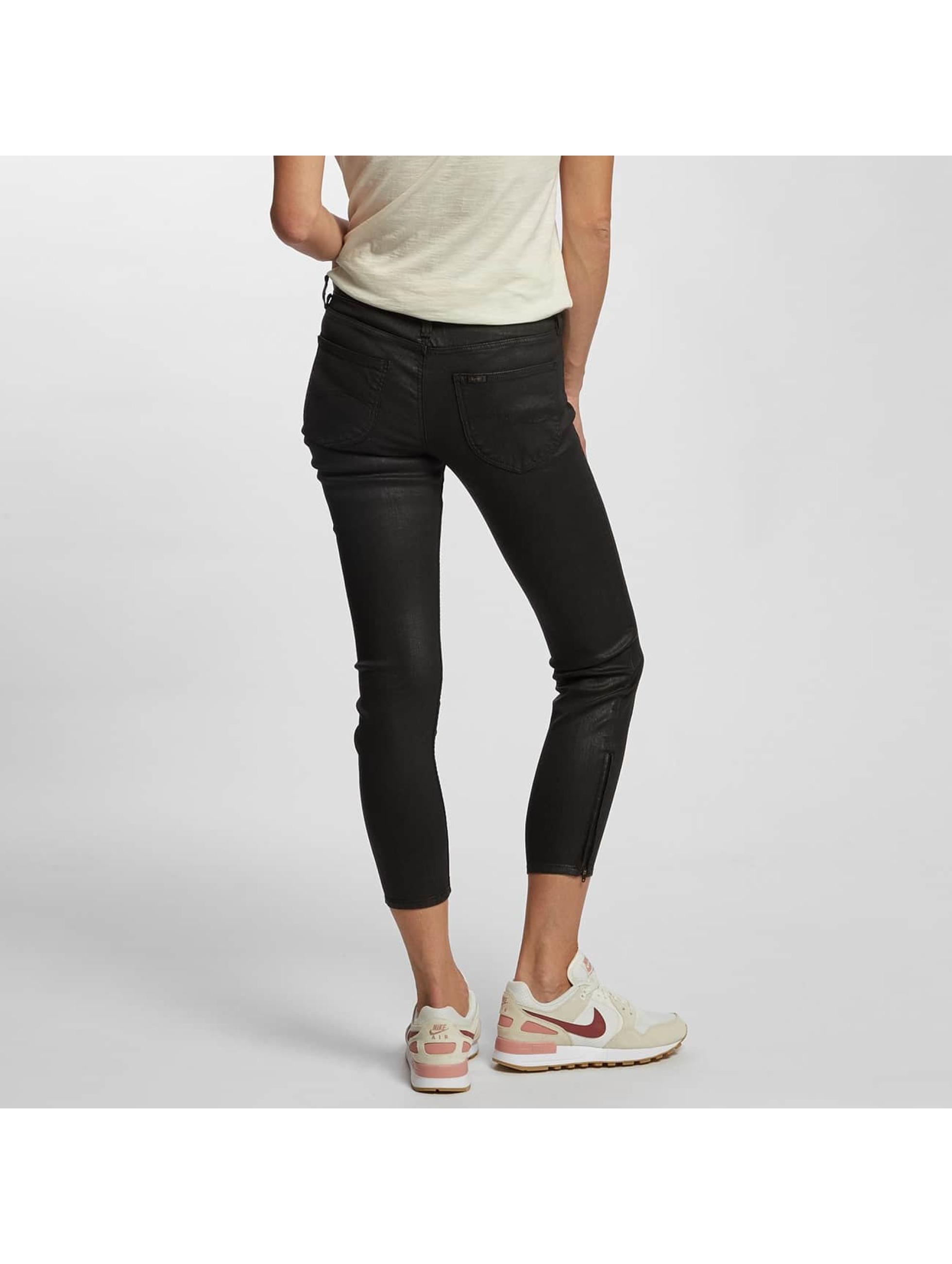Lee Skinny Jeans Scarlett Cropped black