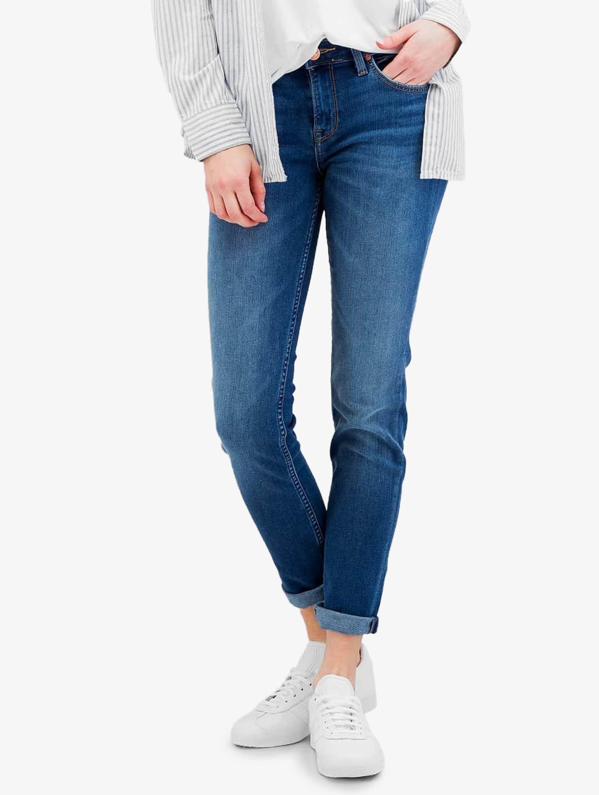 Skinny Jeans Scarlett in blau