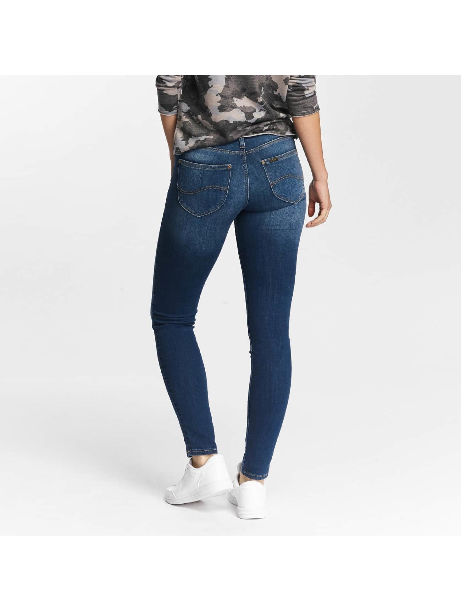 Lee Skinny Jeans Scarlett niebieski
