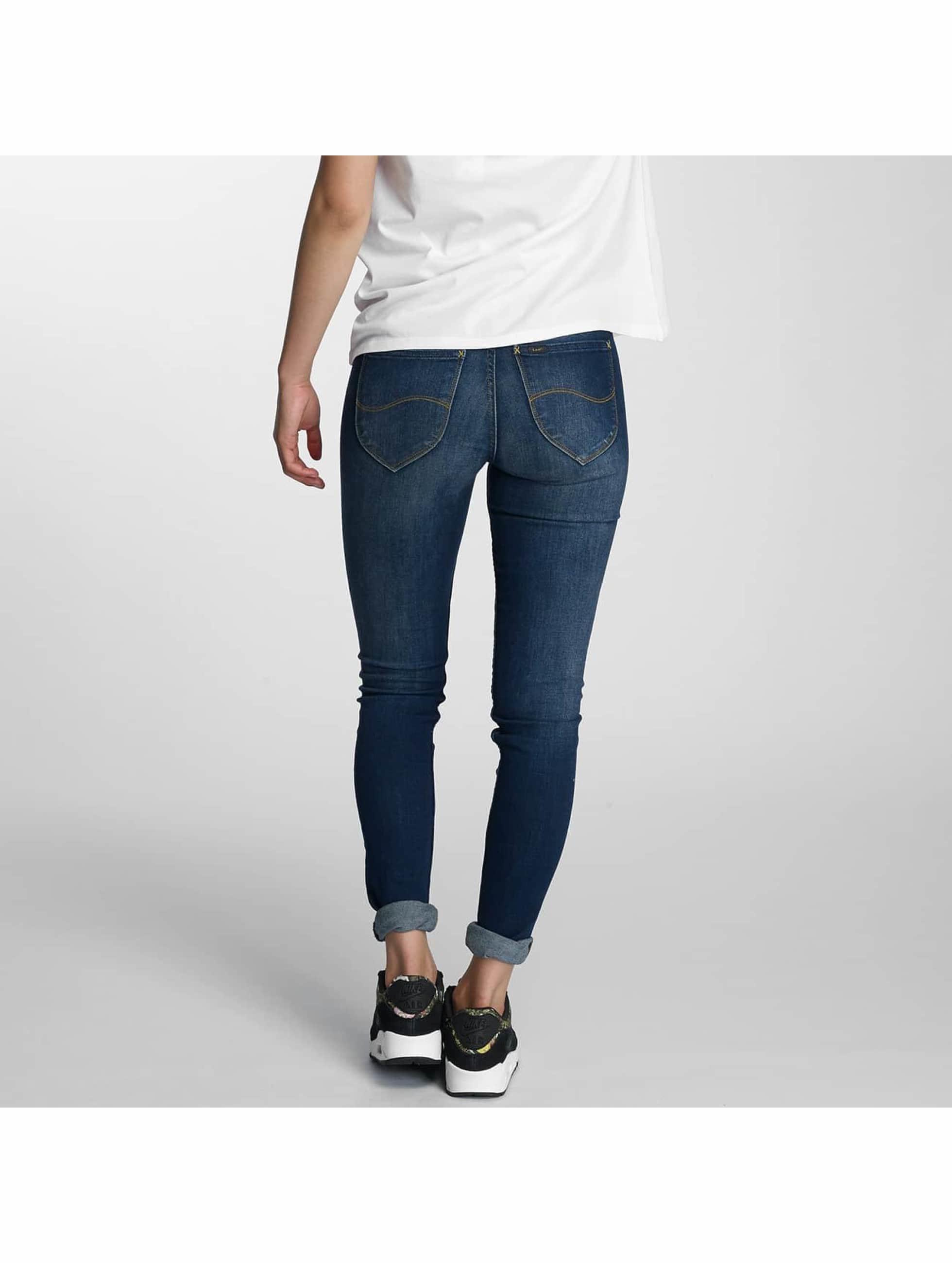 Lee Skinny Jeans Jodee niebieski