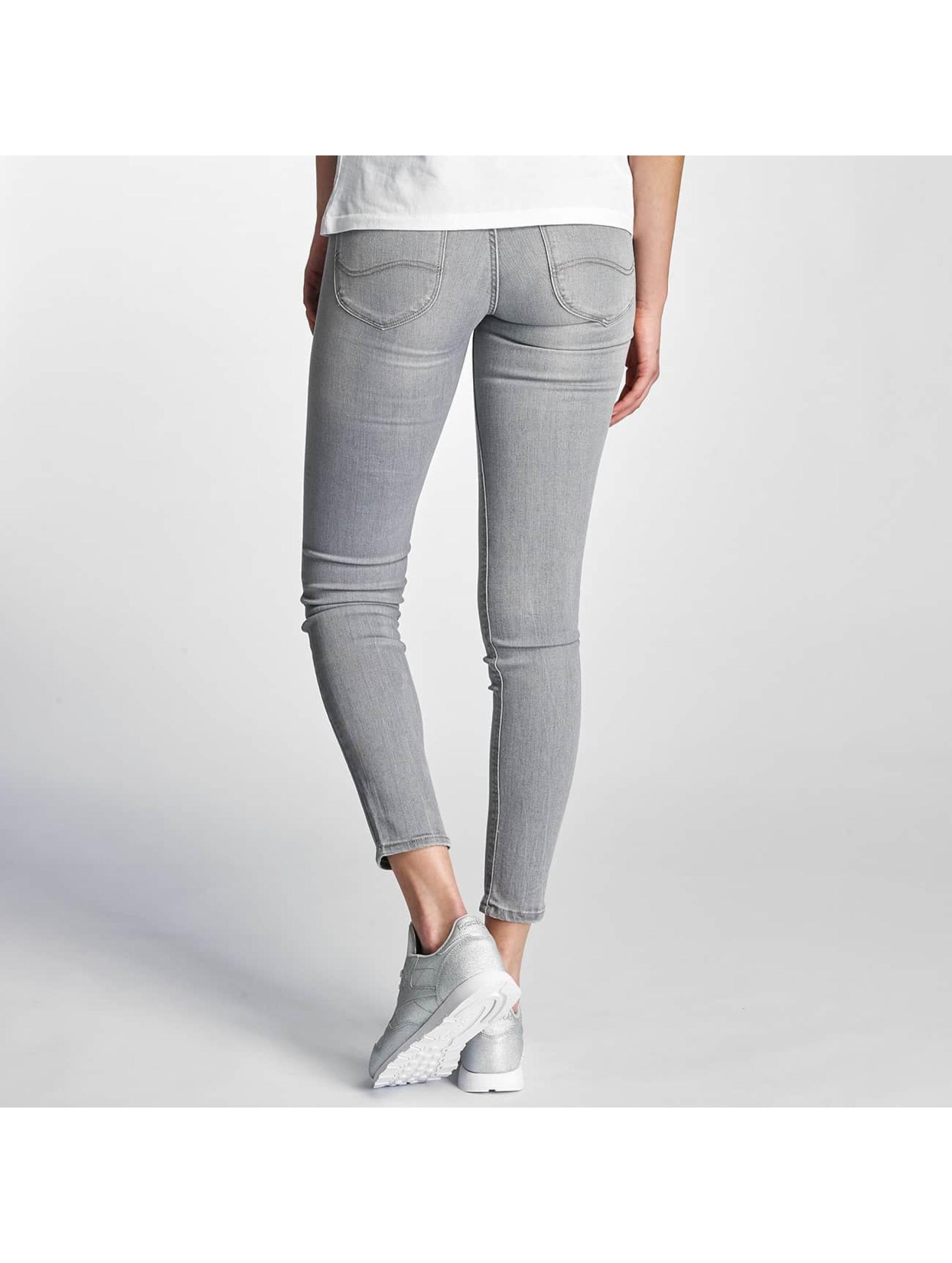 Lee Skinny Jeans Scarlett szary