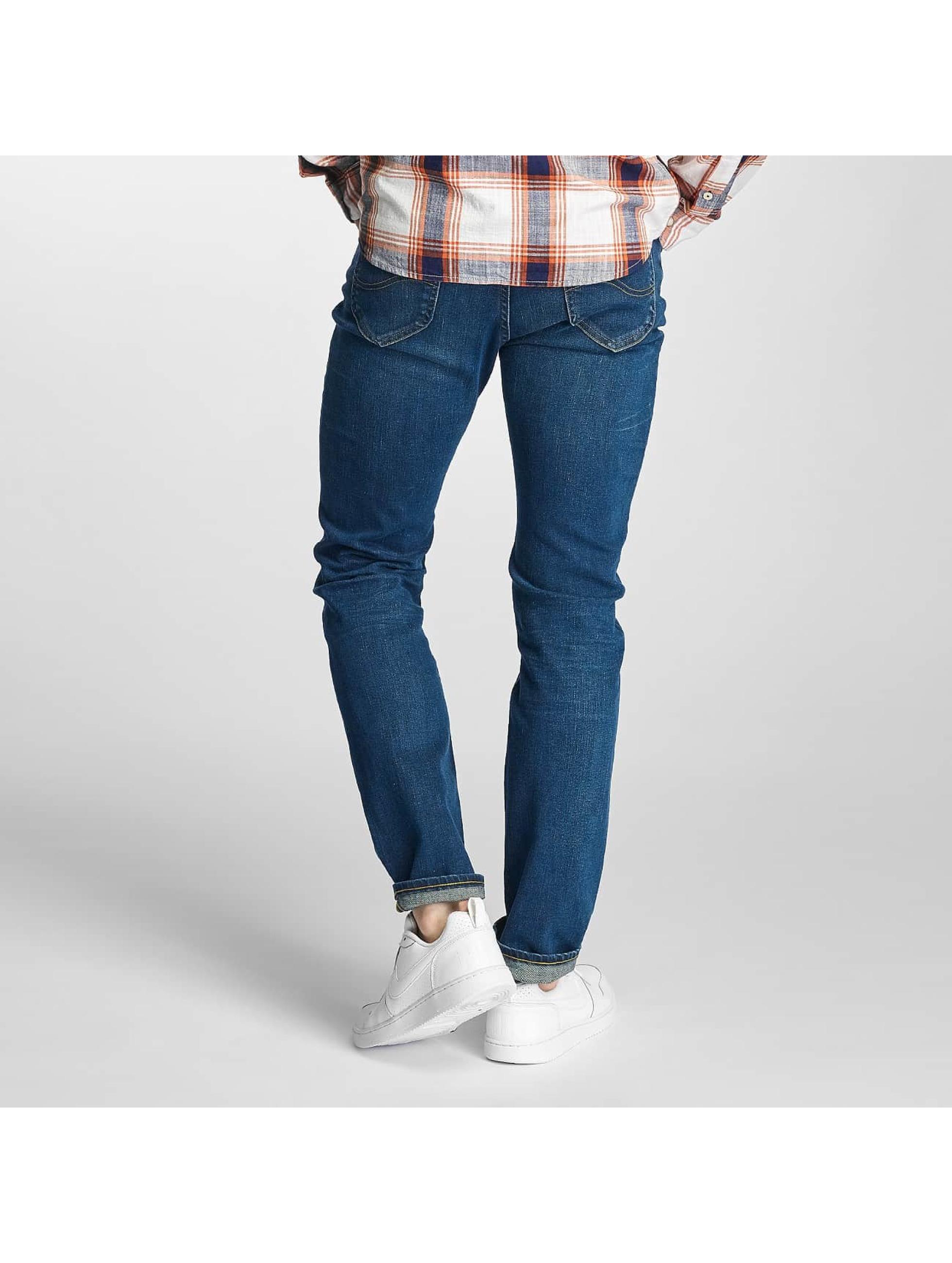 Lee Slim Fit Jeans Rider Regular Waist blau