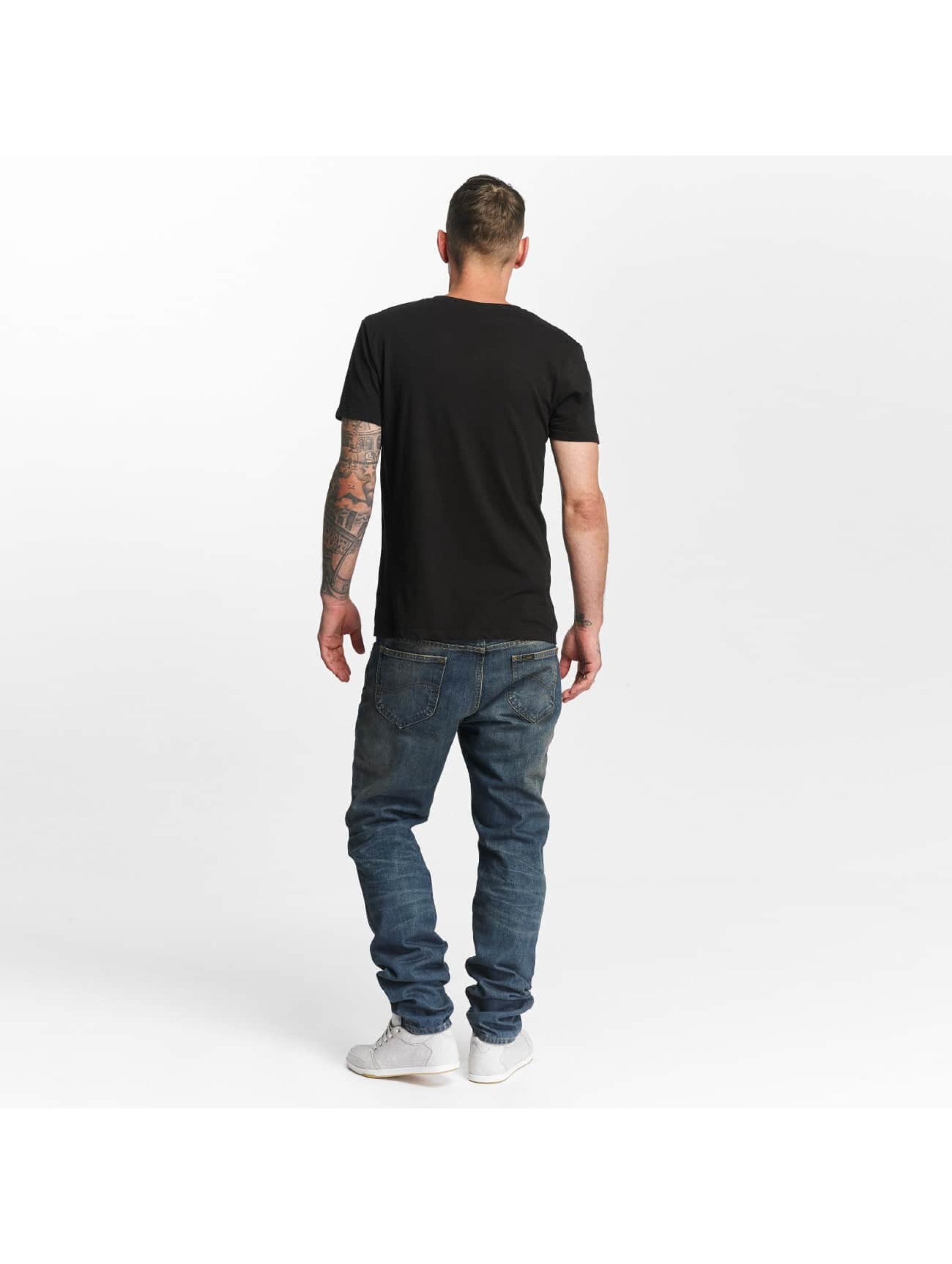 Lee Slim Fit Jeans Rider Destroyed blue