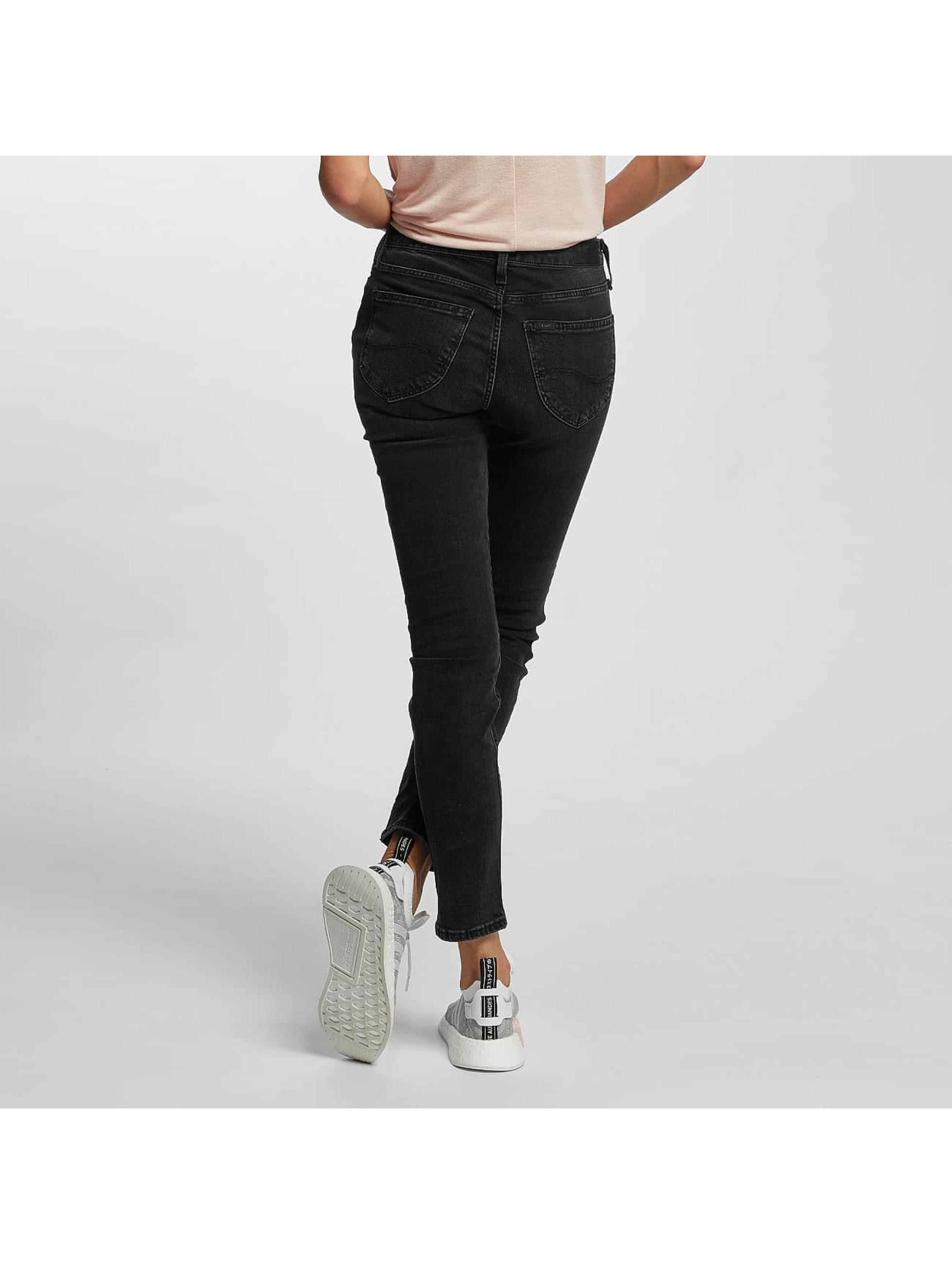 Lee Slim Fit Jeans Elly grå