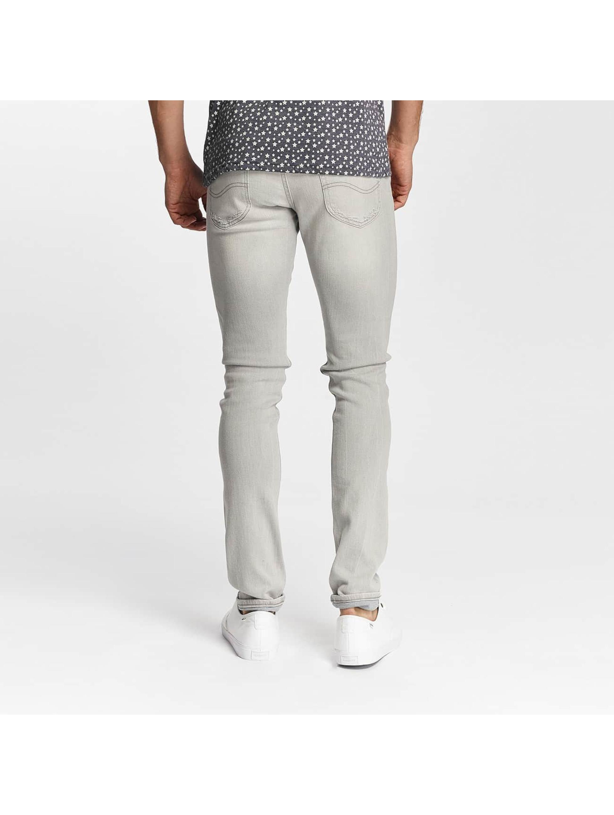 Lee Slim Fit Jeans Luke grå