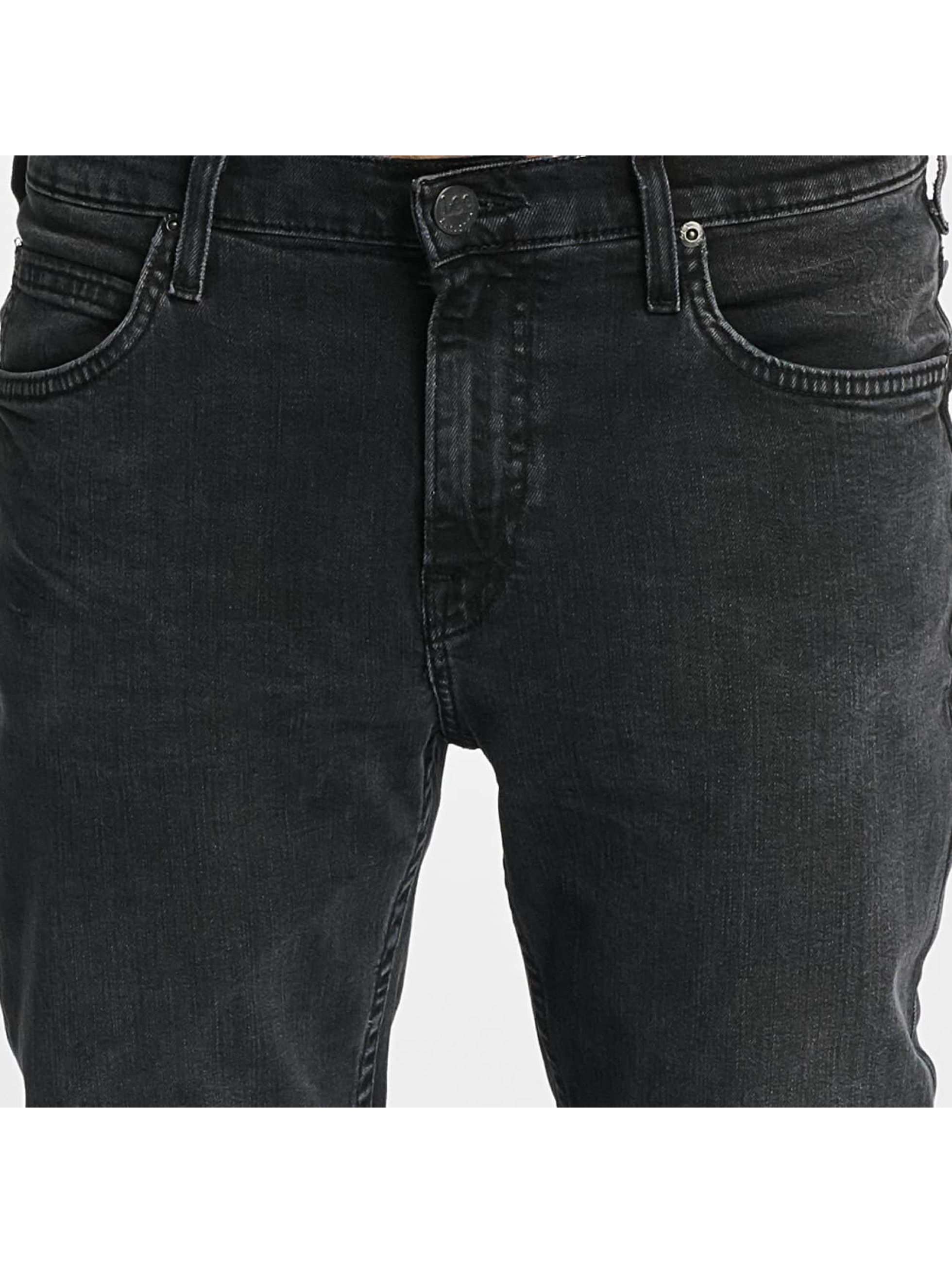 Lee Slim Fit Jeans Rider grau