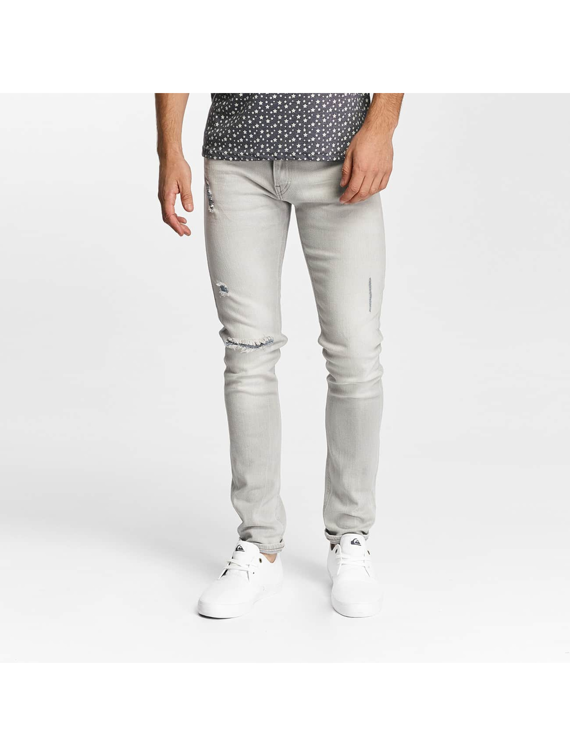 Lee Slim Fit Jeans Luke grau