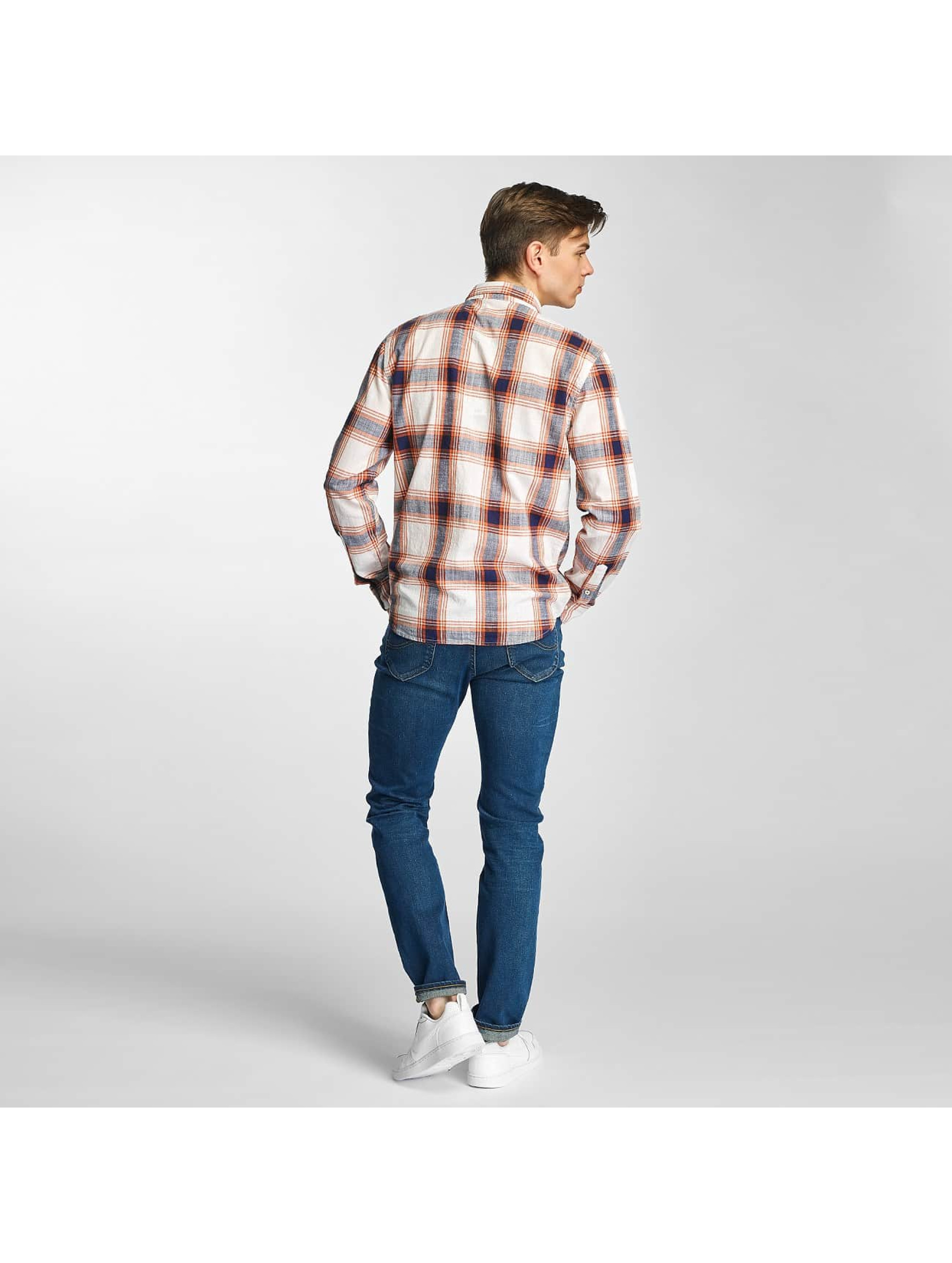 Lee Slim Fit Jeans Rider Regular Waist modrá