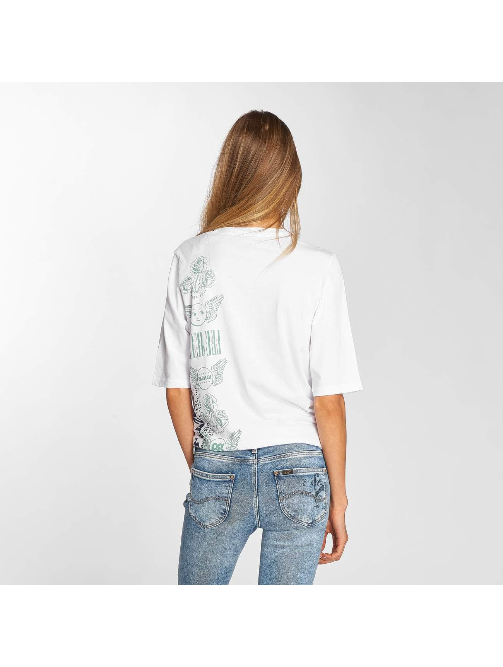 Lee T-Shirt Graphic blanc