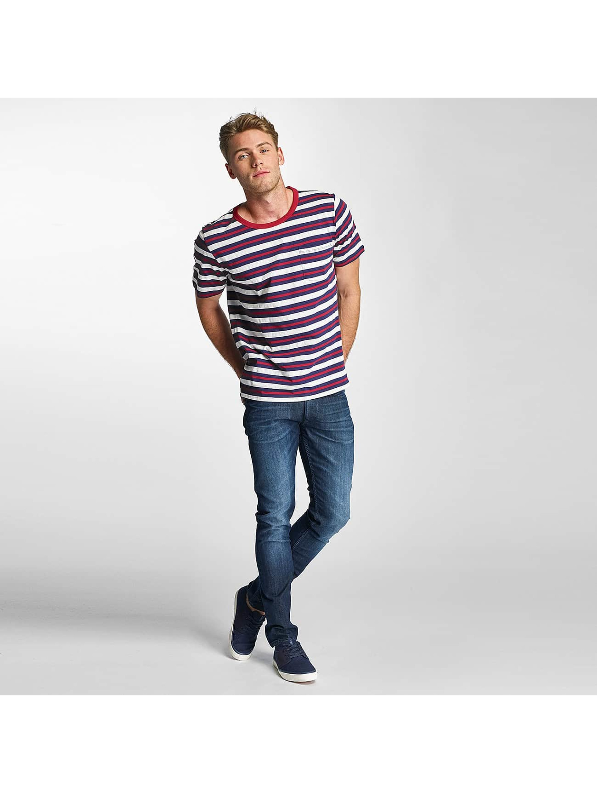 Lee T-Shirt Stripe blau