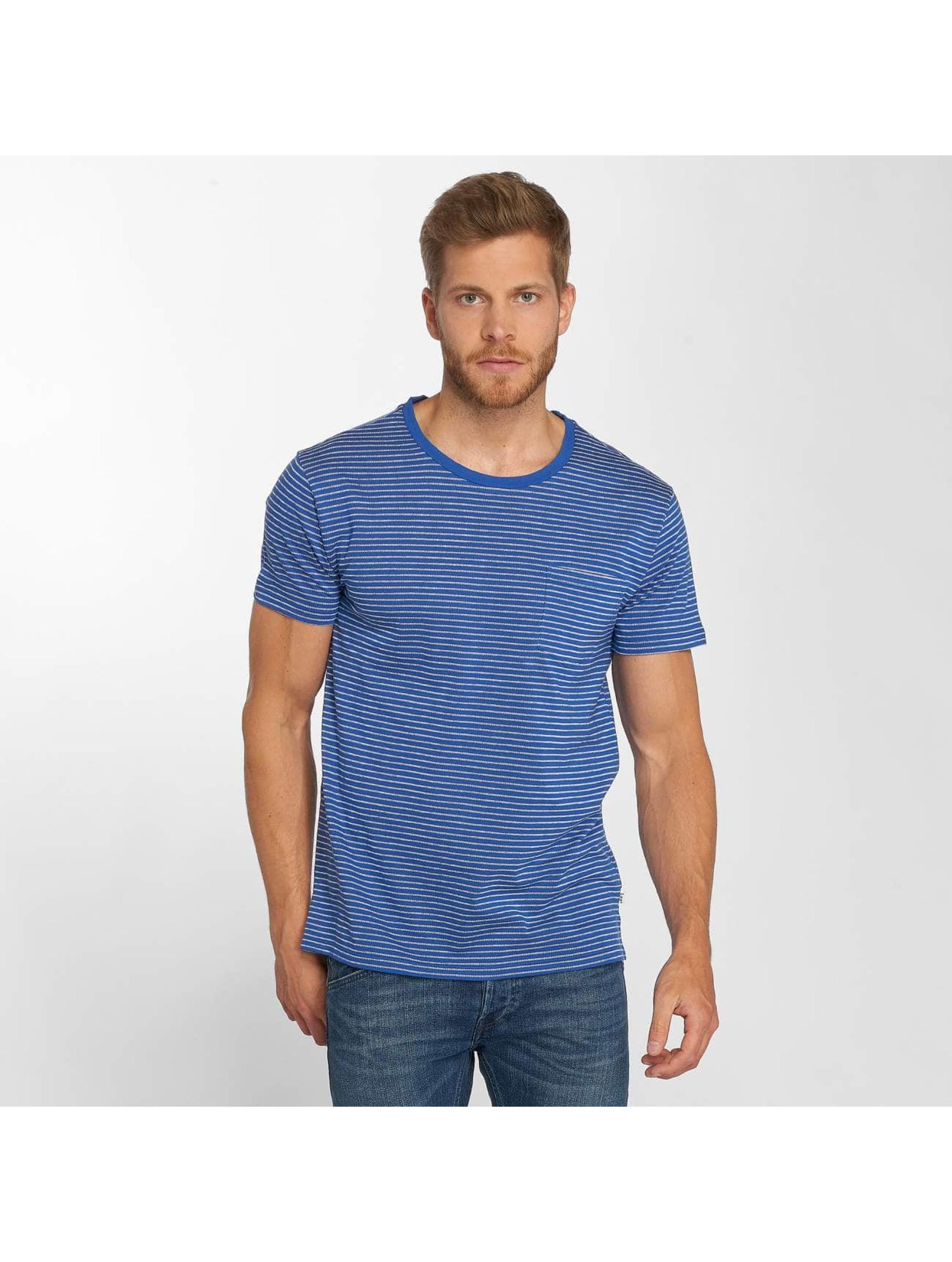 Lee T-Shirt Core Stripe blau