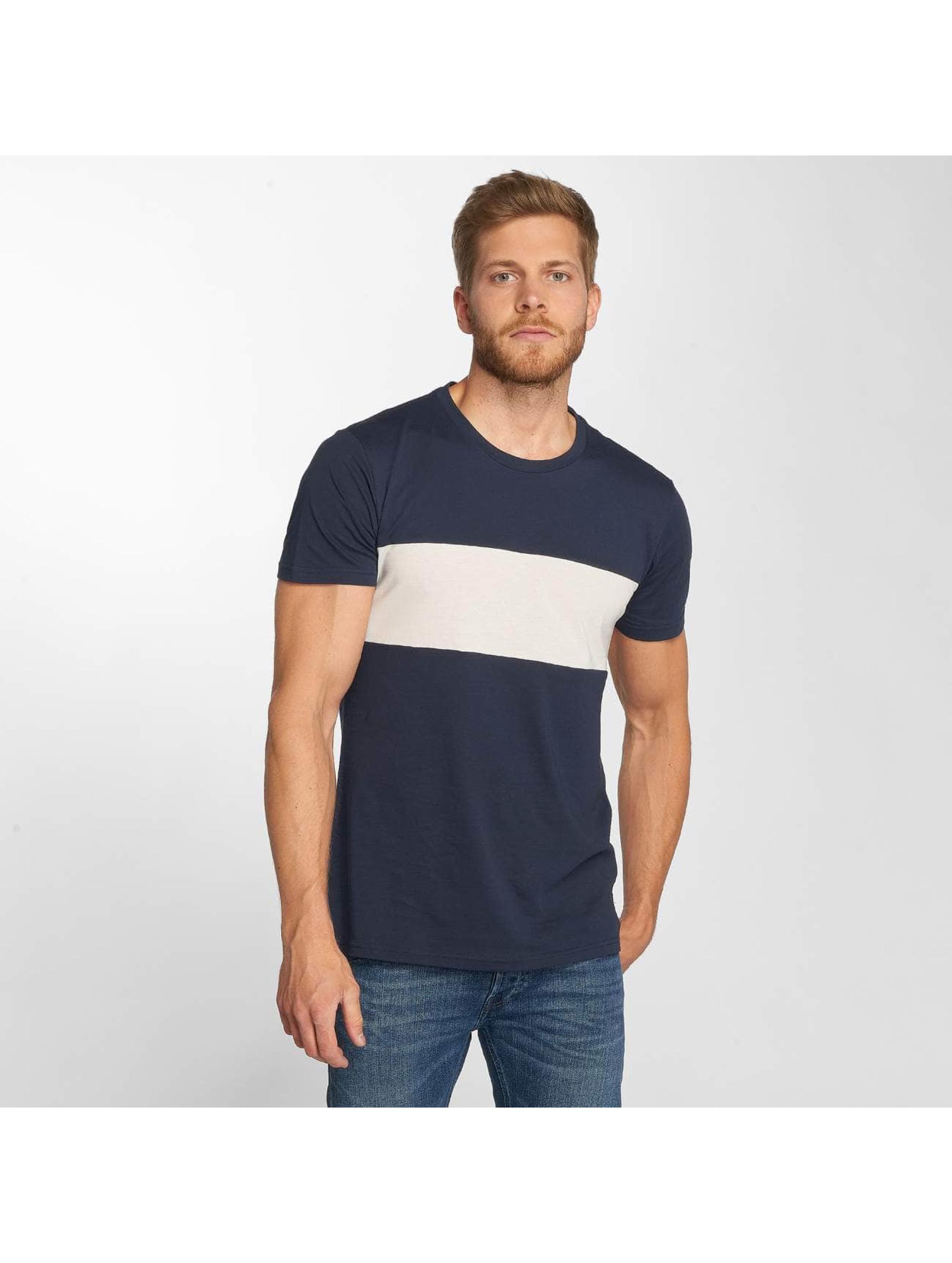 Lee T-Shirt Blocking blau