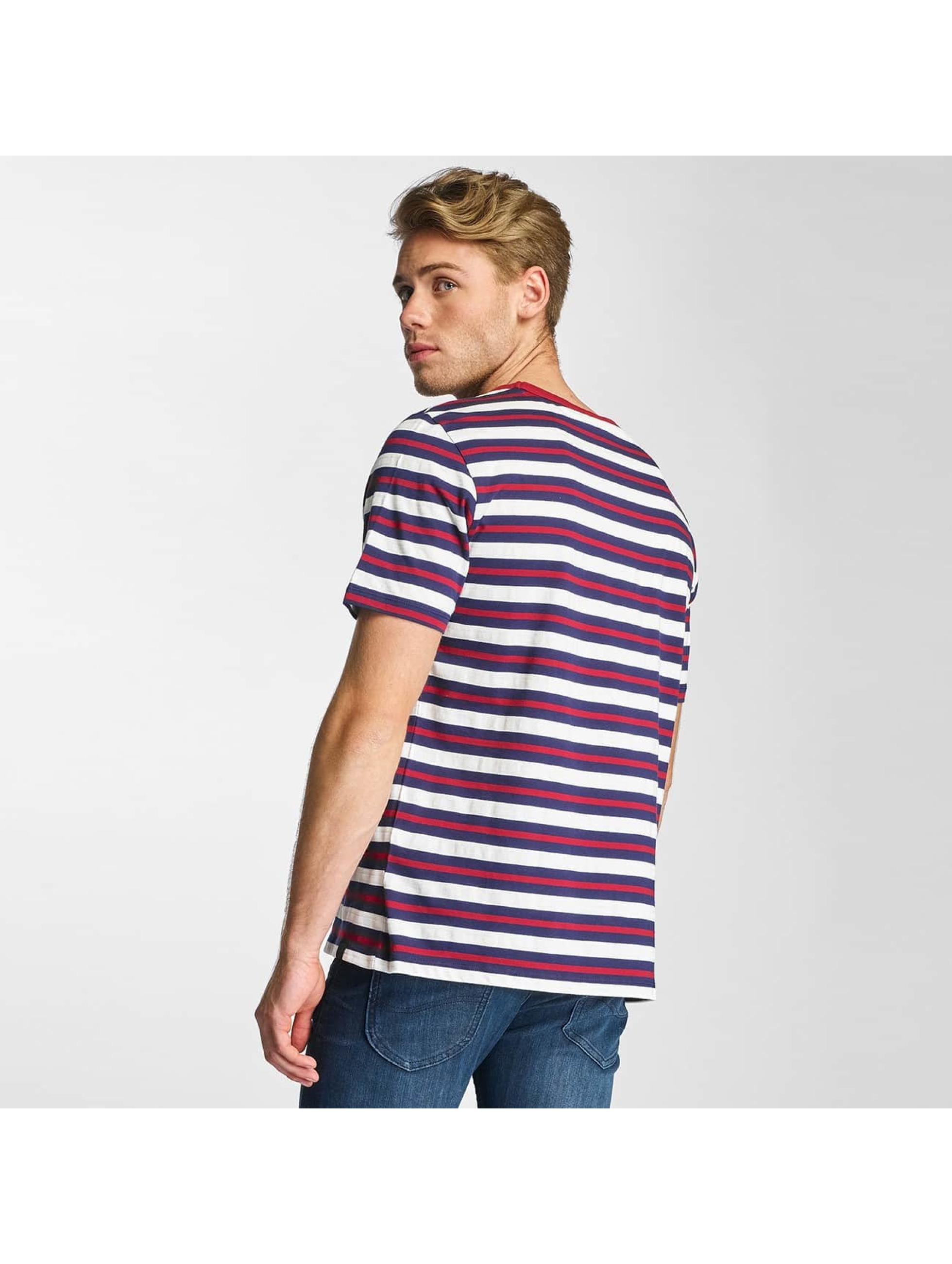 Lee T-Shirt Stripe bleu