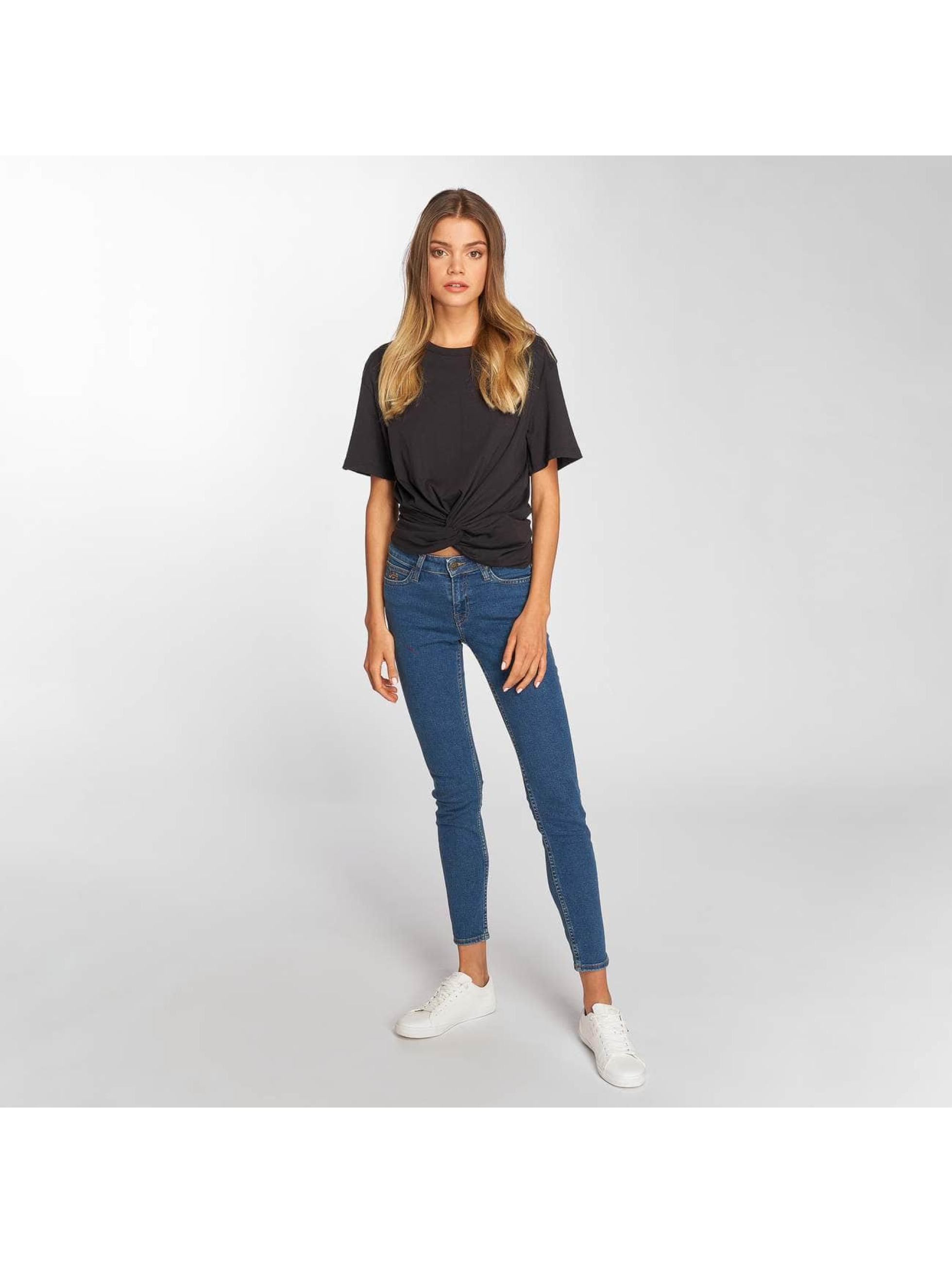 Lee T-Shirt Knotted noir