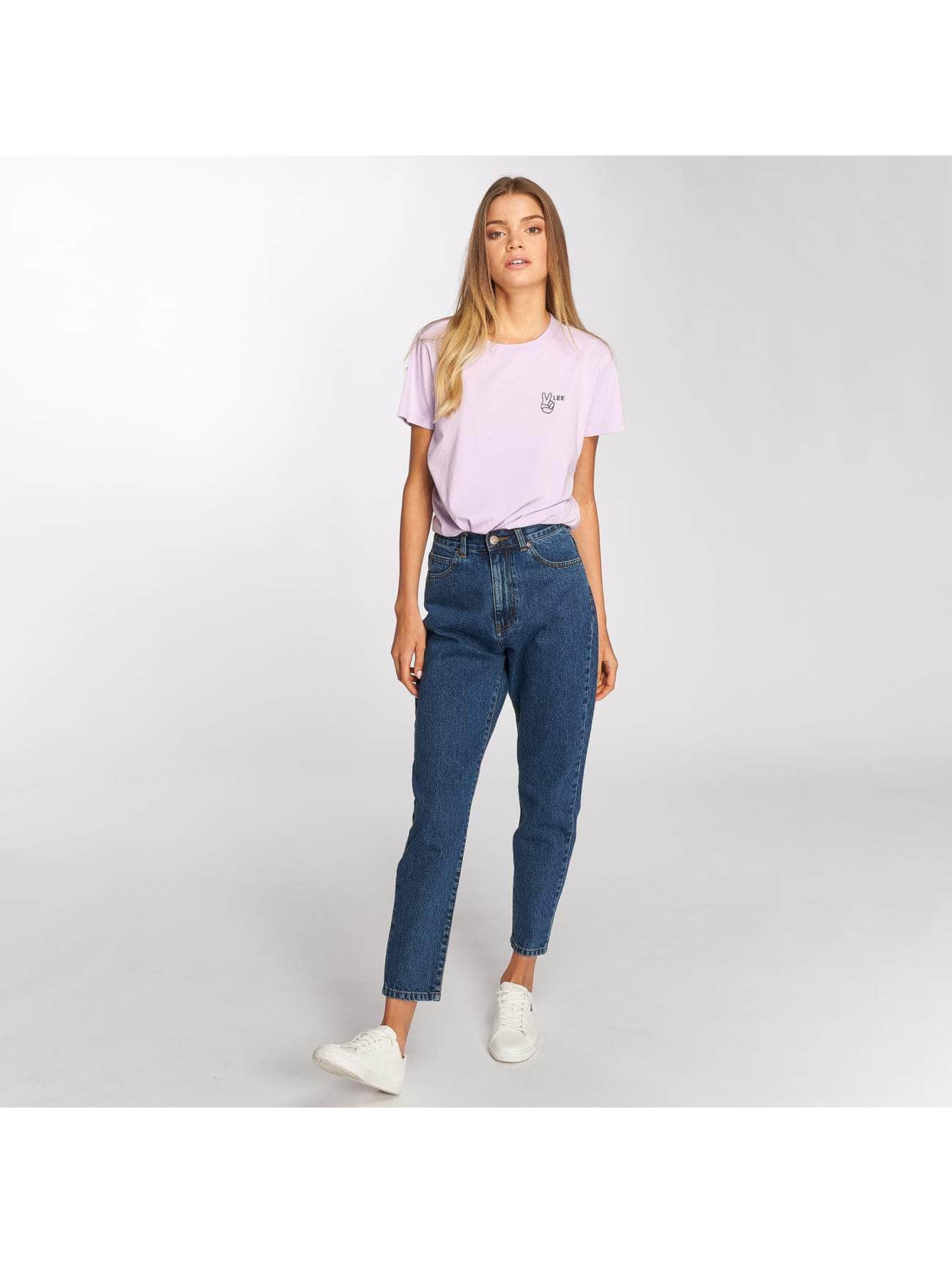 Lee T-Shirt Walte pourpre