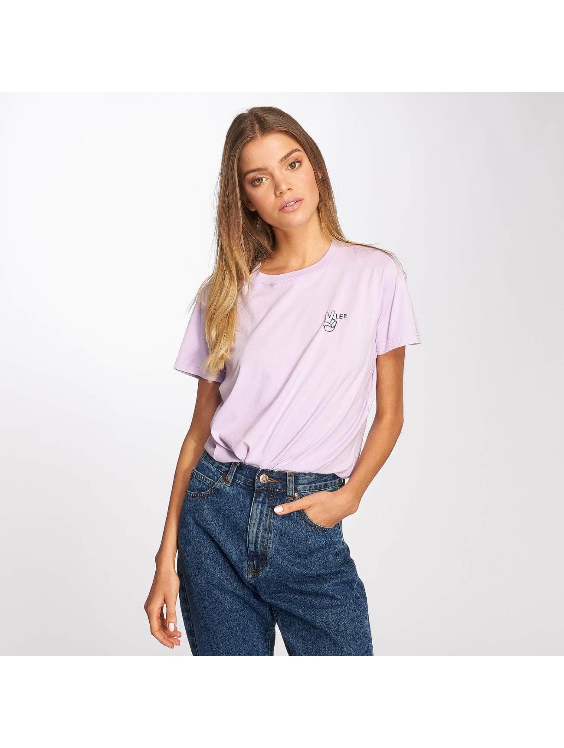Lee T-Shirt Walte violet