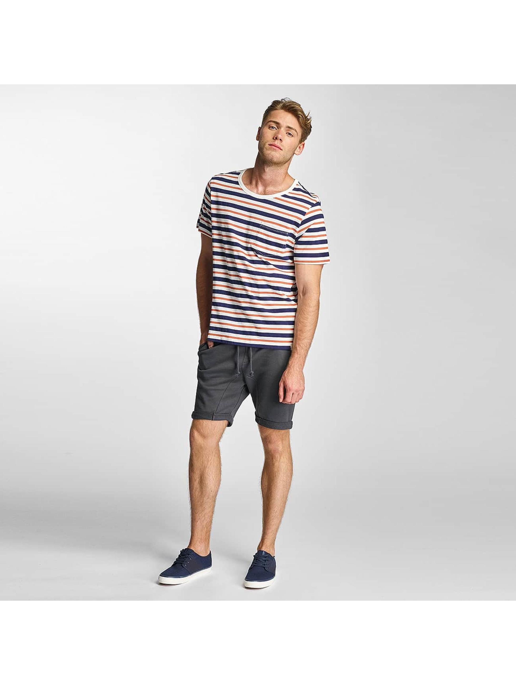 Lee T-Shirt Stripe weiß