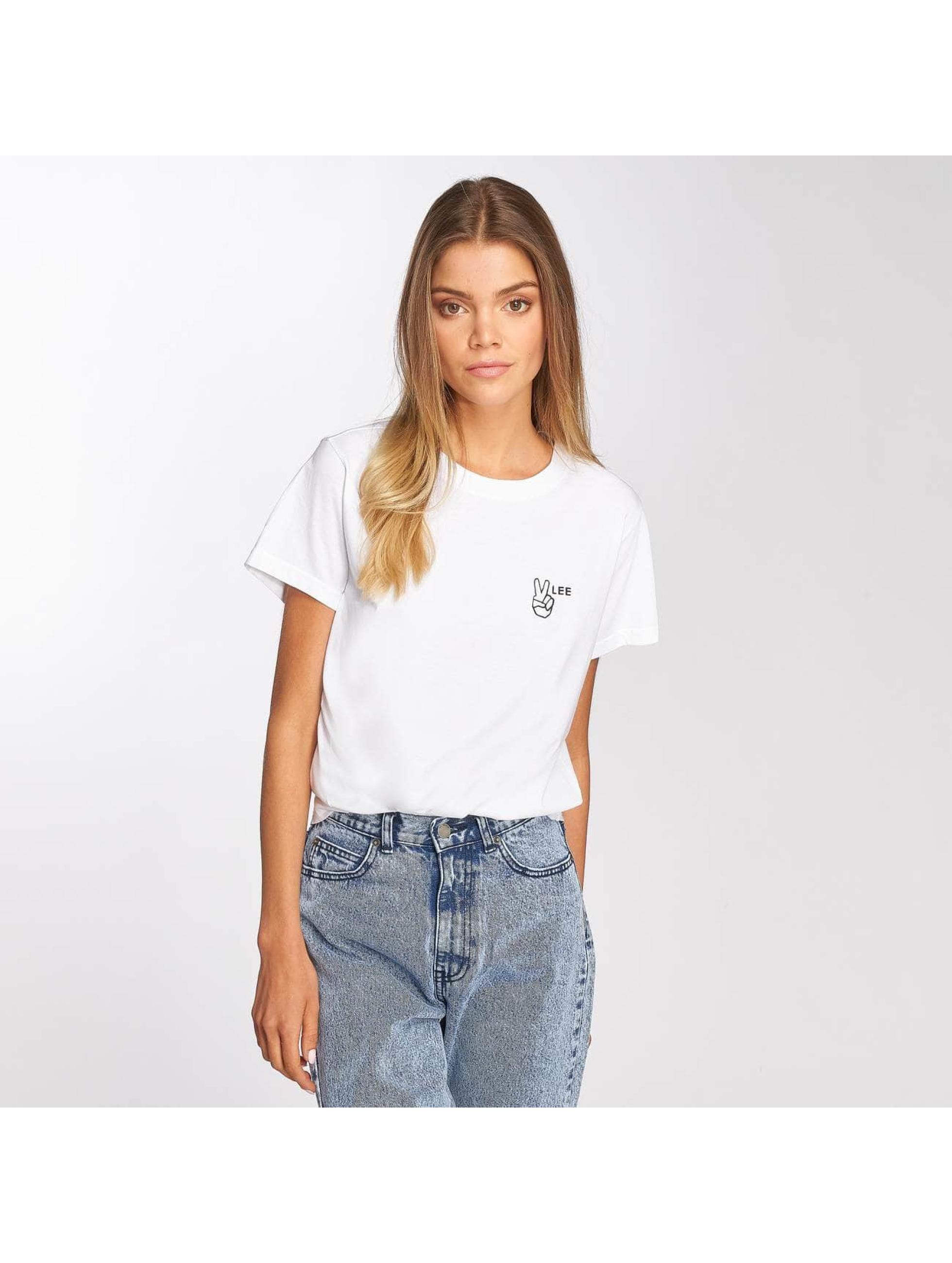 Lee T-Shirt Walte weiß