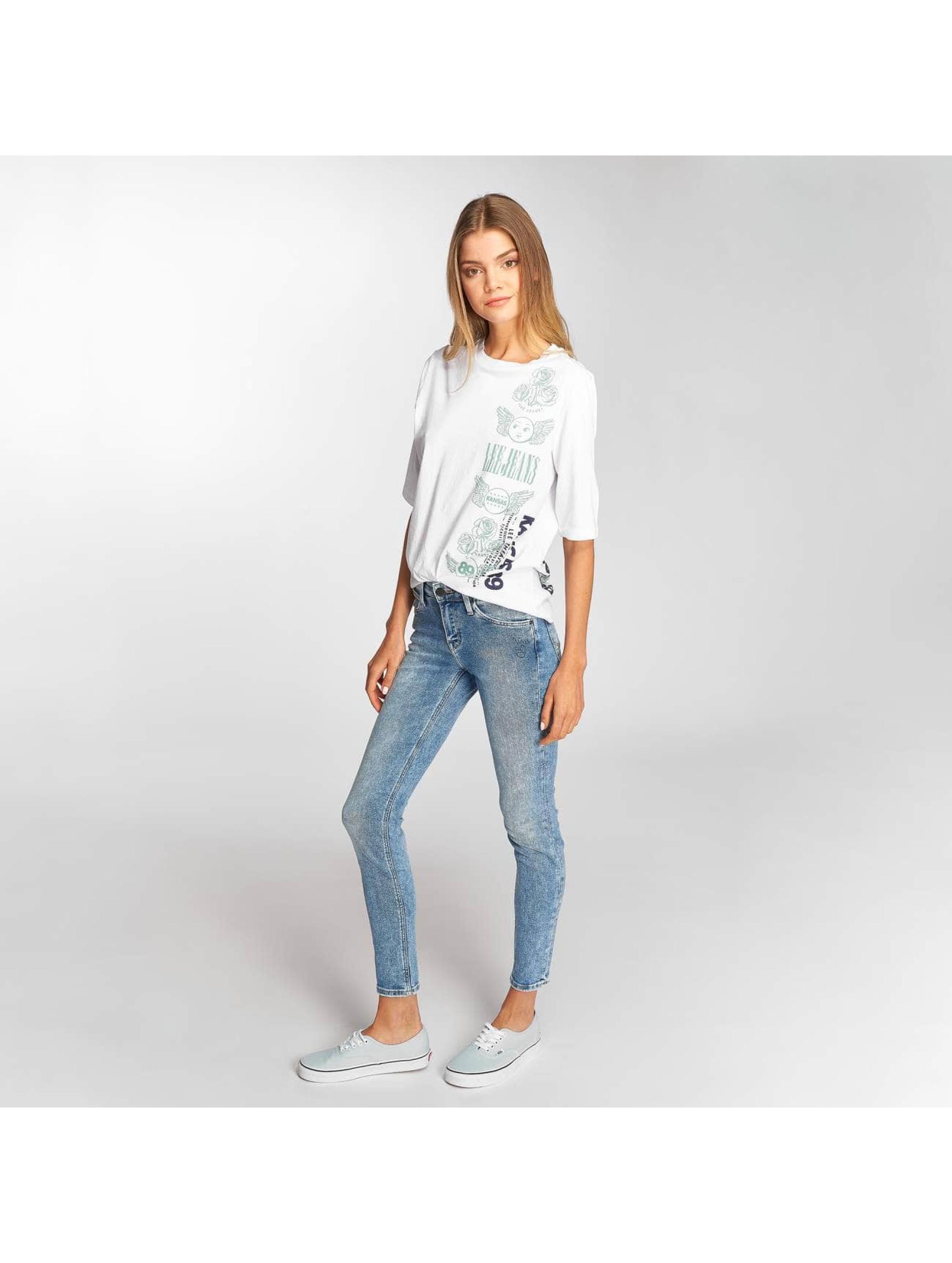 Lee T-Shirt Graphic weiß