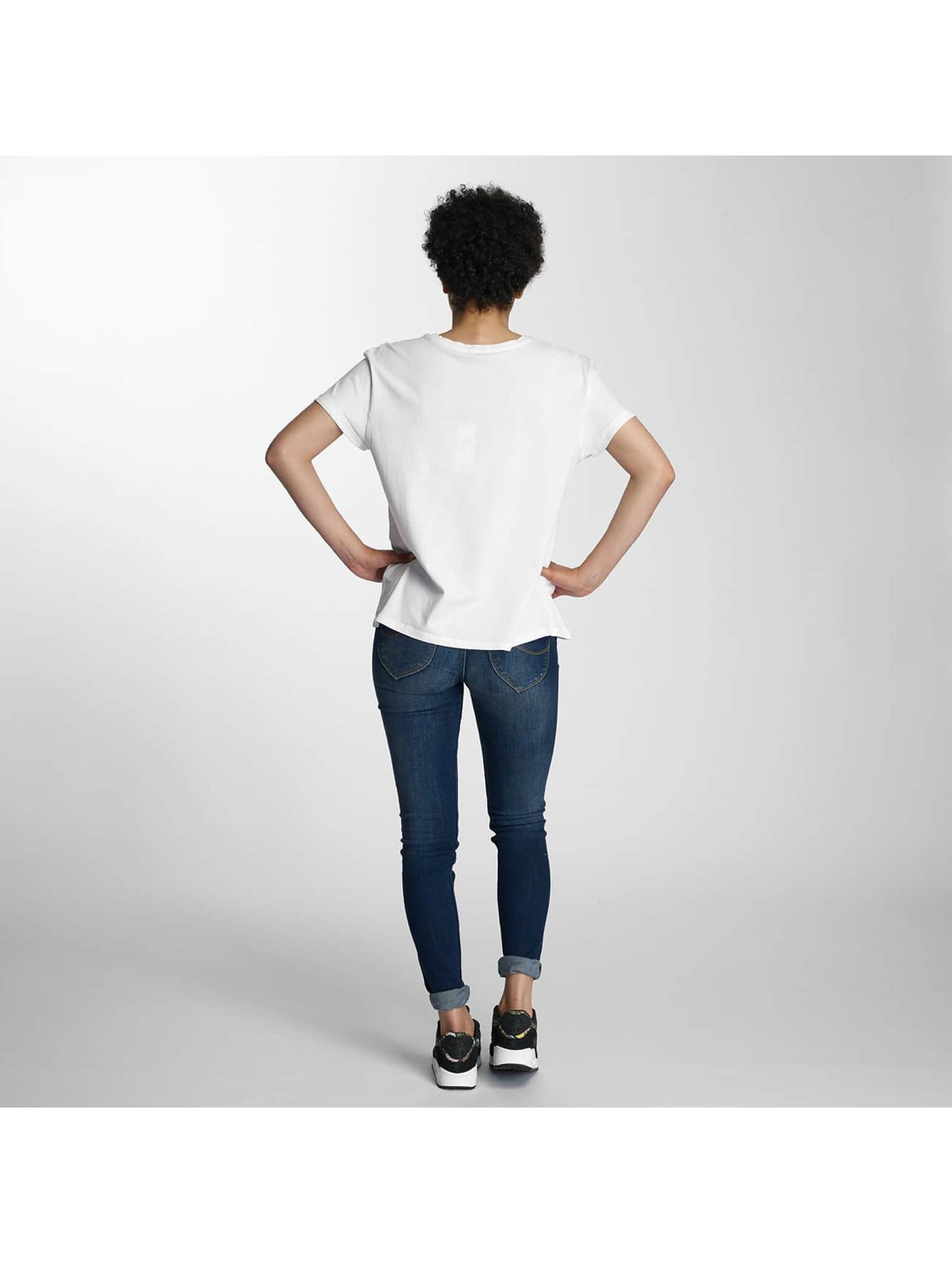 Lee t-shirt Logo wit