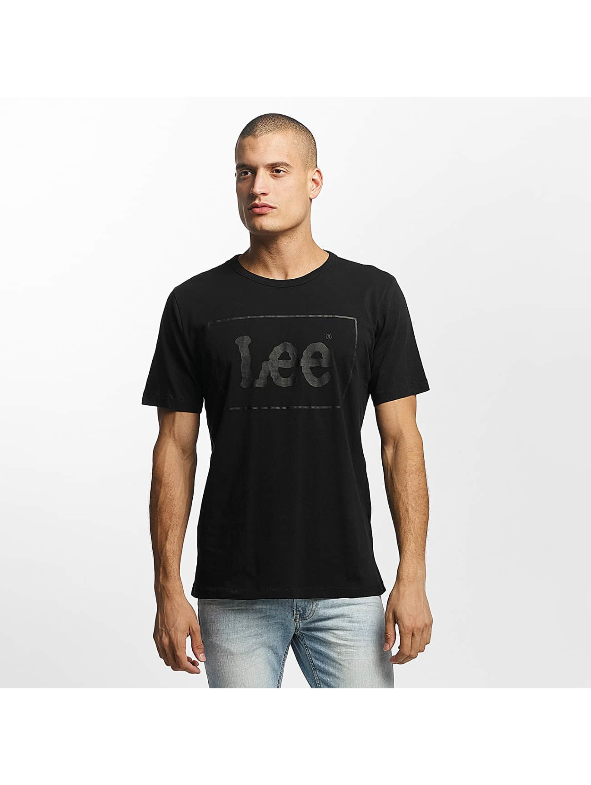 Lee T-Shirty Lee czarny