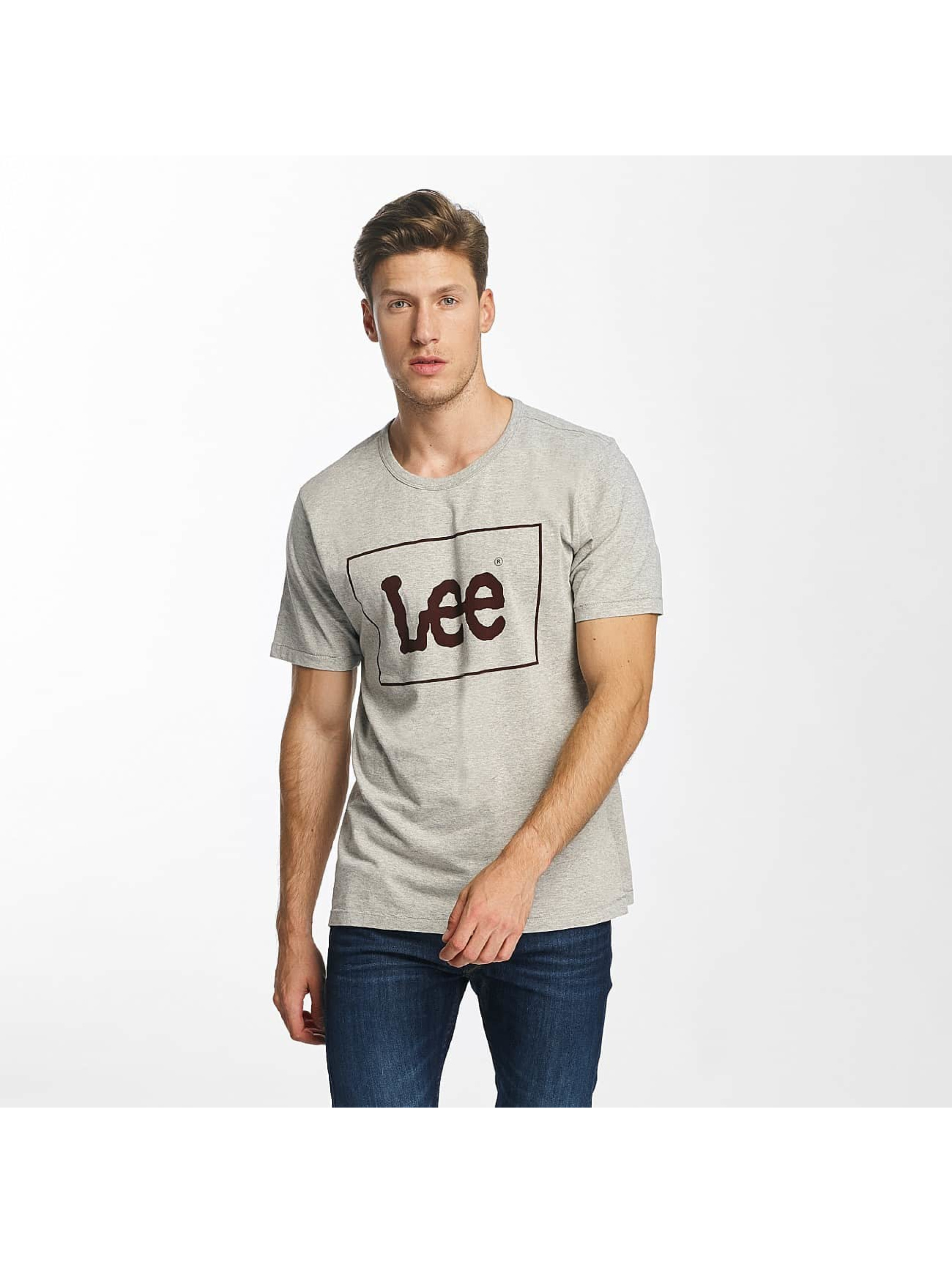 Lee T-Shirty Lee szary